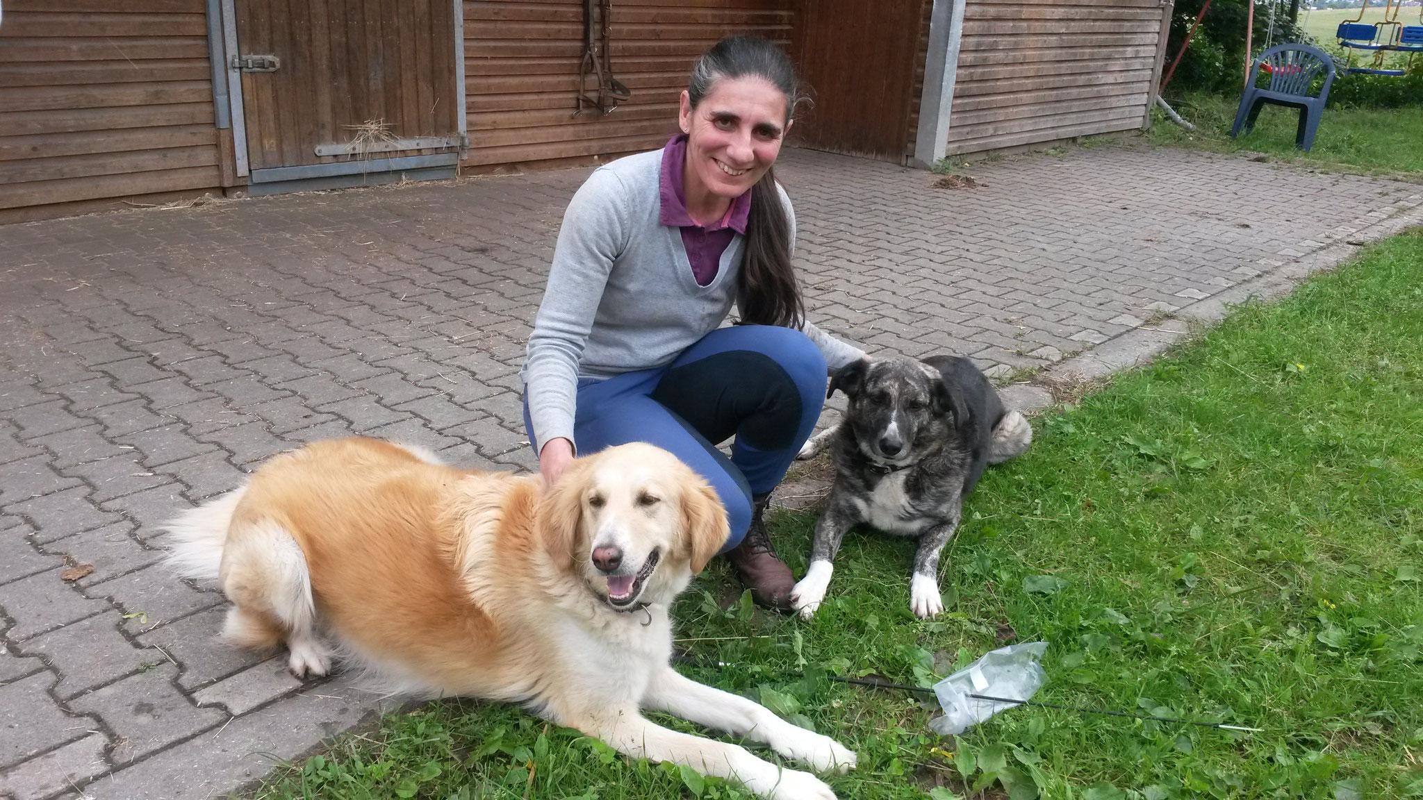 Die besten Hunde: Justy und Leni