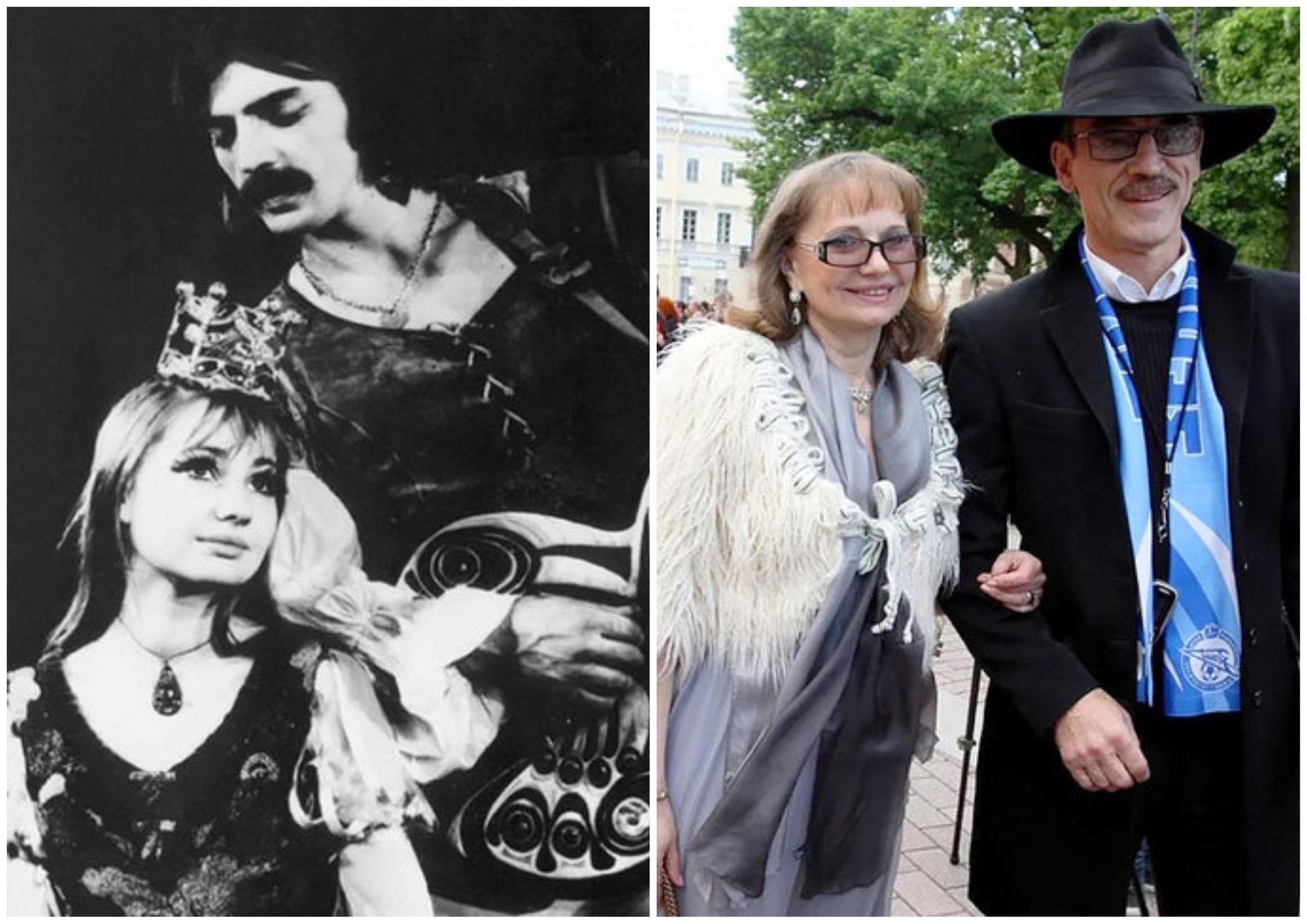 Михайло Боярский і Лариса Луппіан