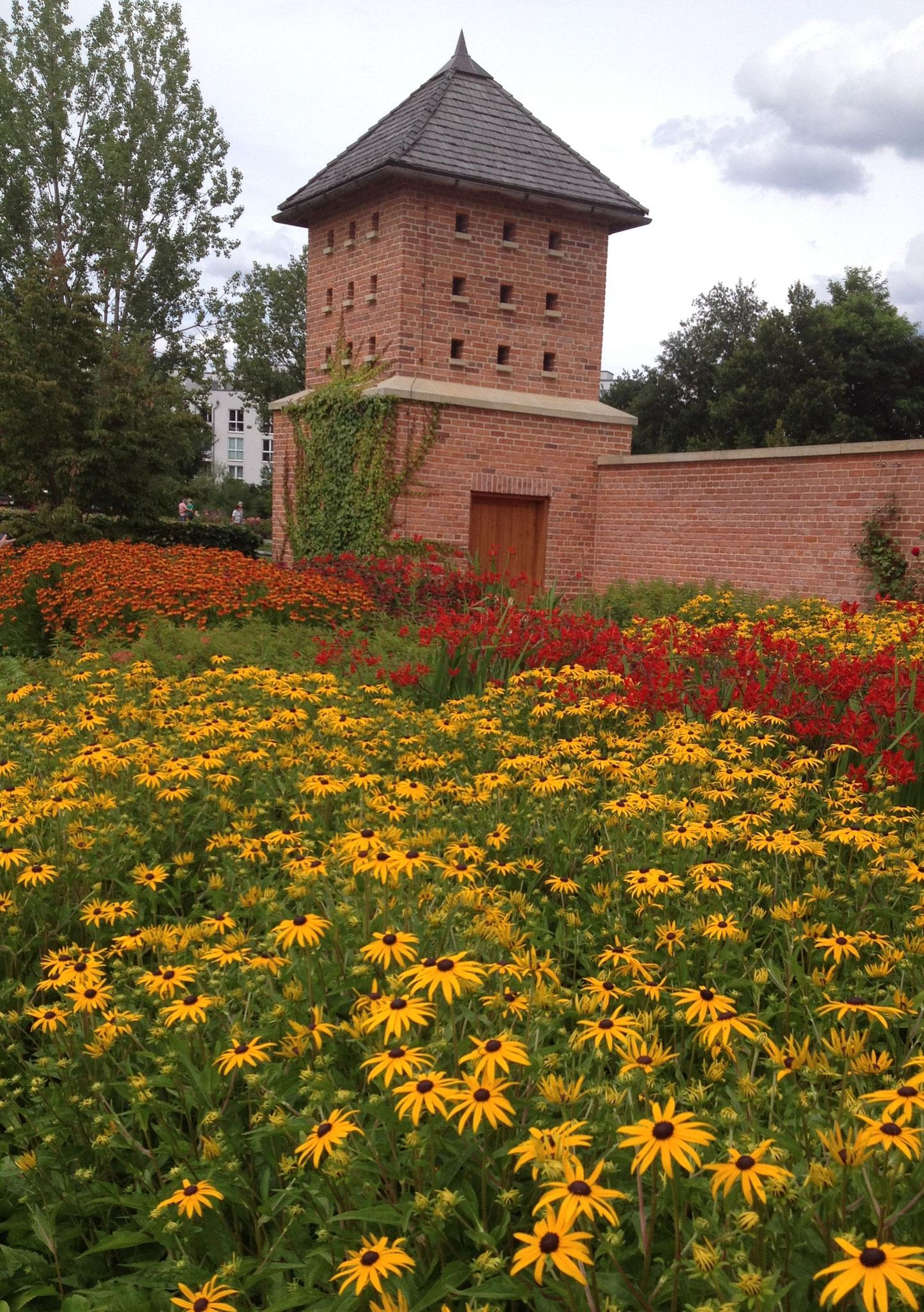 Neu angelegt für die IGA: Englischer Garten