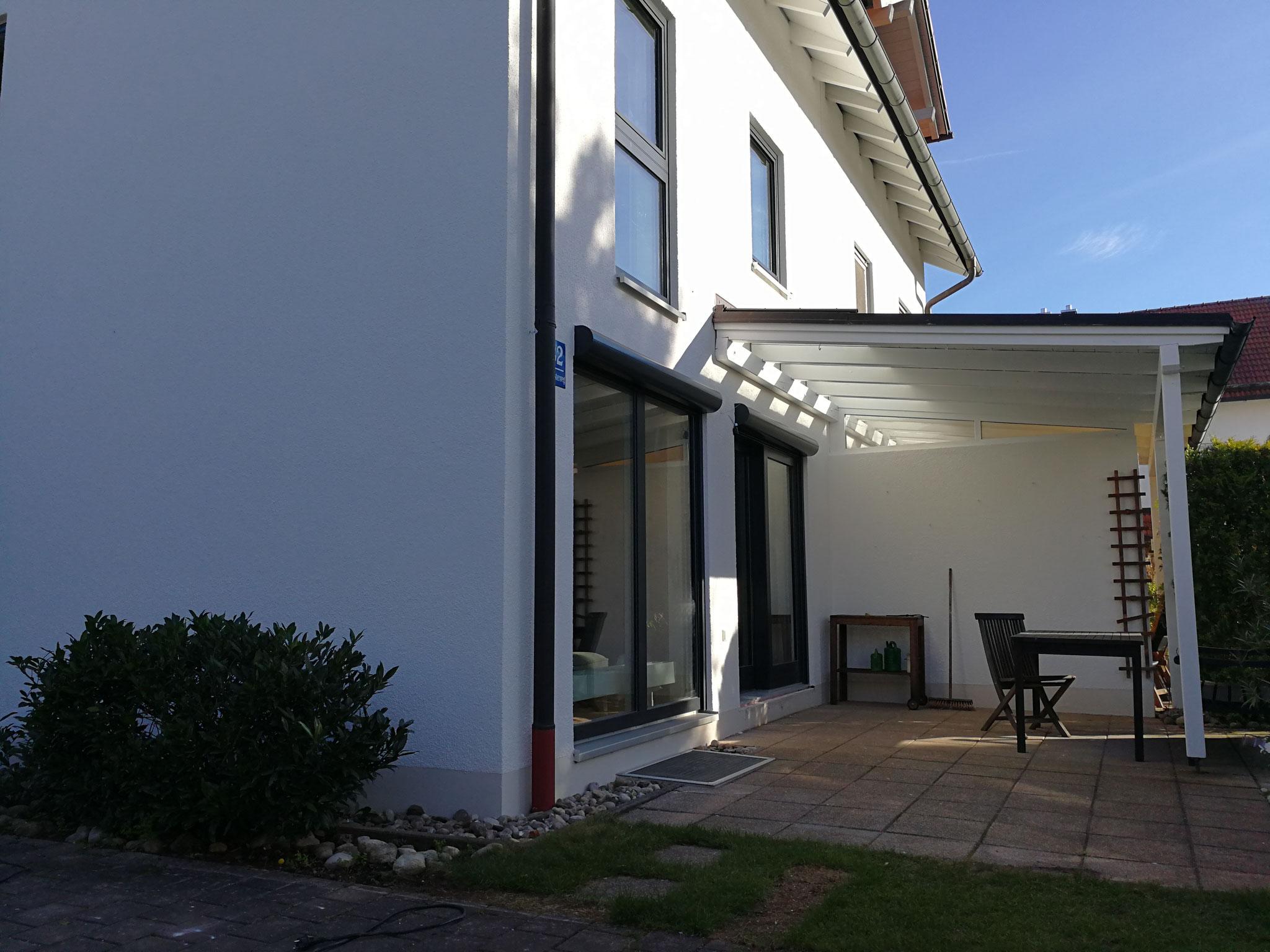 Neue Front Terrassenseite
