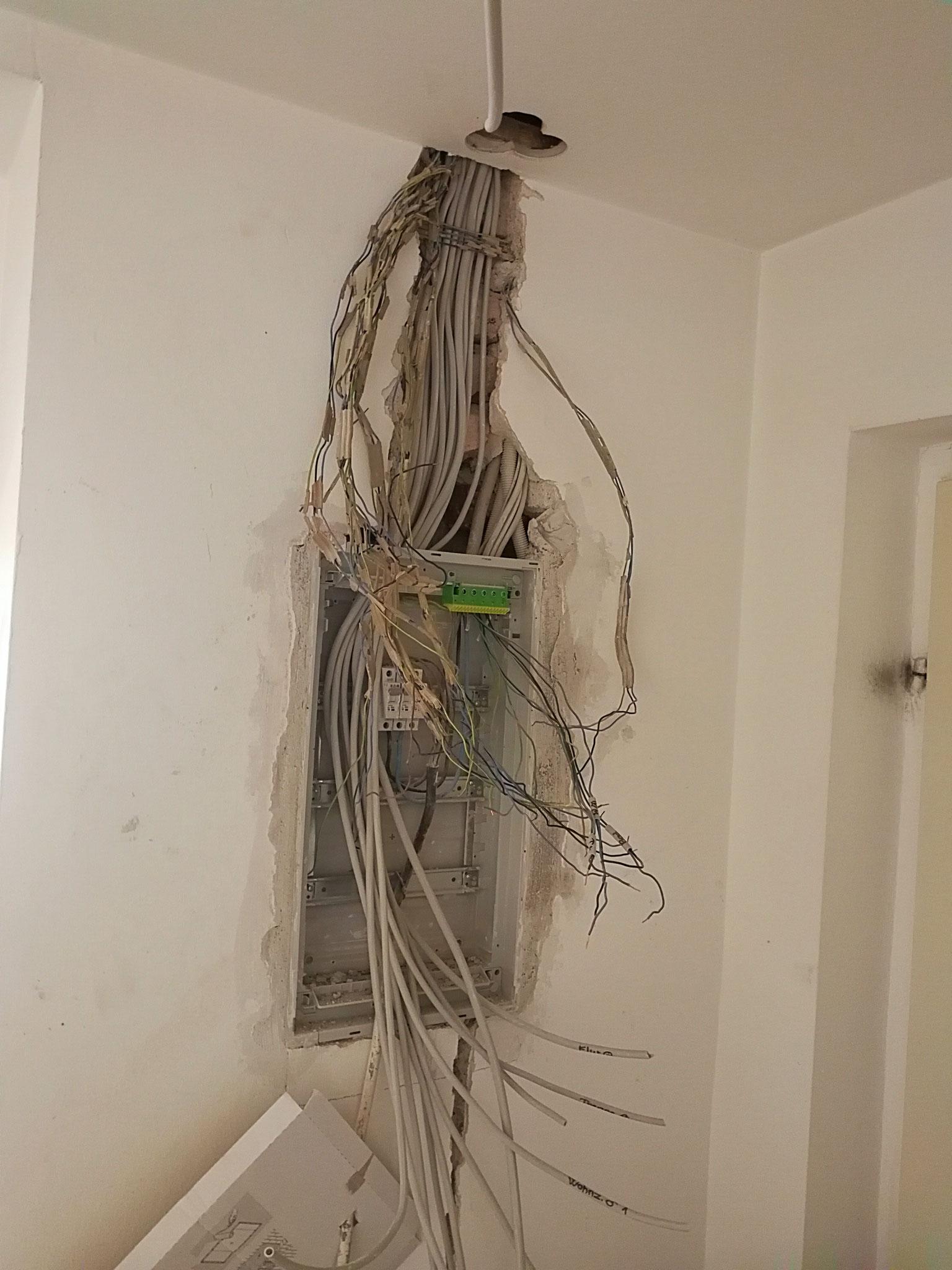 Elektrik Unterverteilung