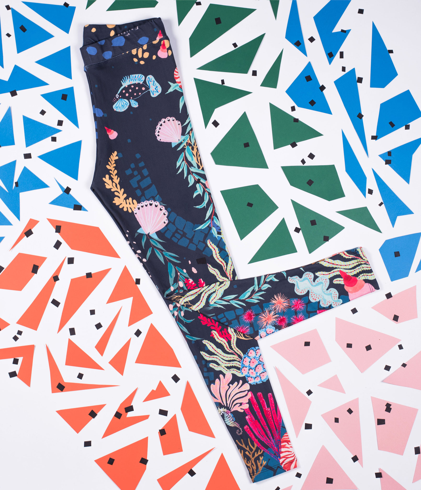 Yoga Leggings 'Sea Love' in support of Proactiva Open Arms