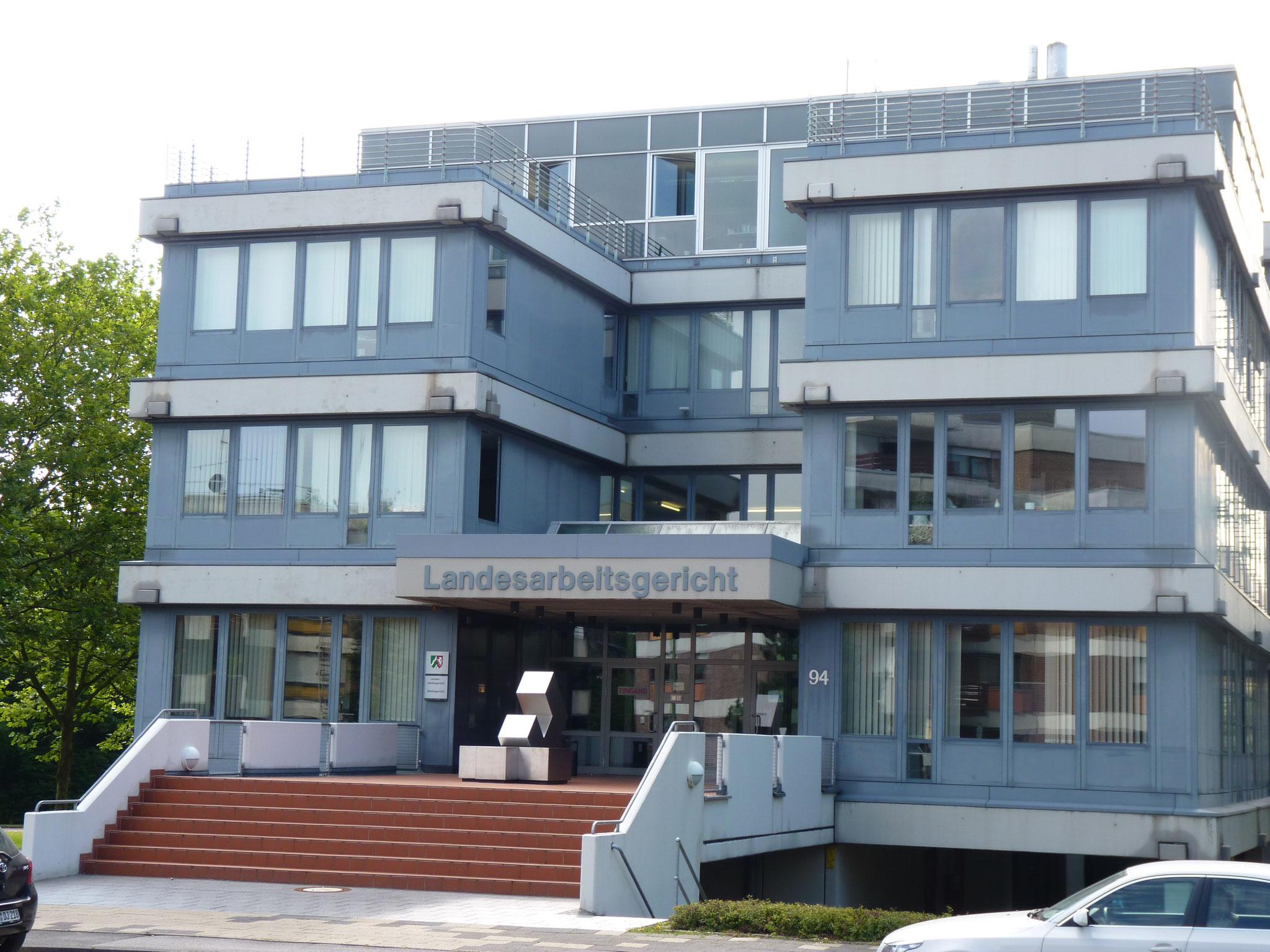 Landesarbeitsgericht und Arbeitsgericht Hamm (Foto: Justiz NRW)