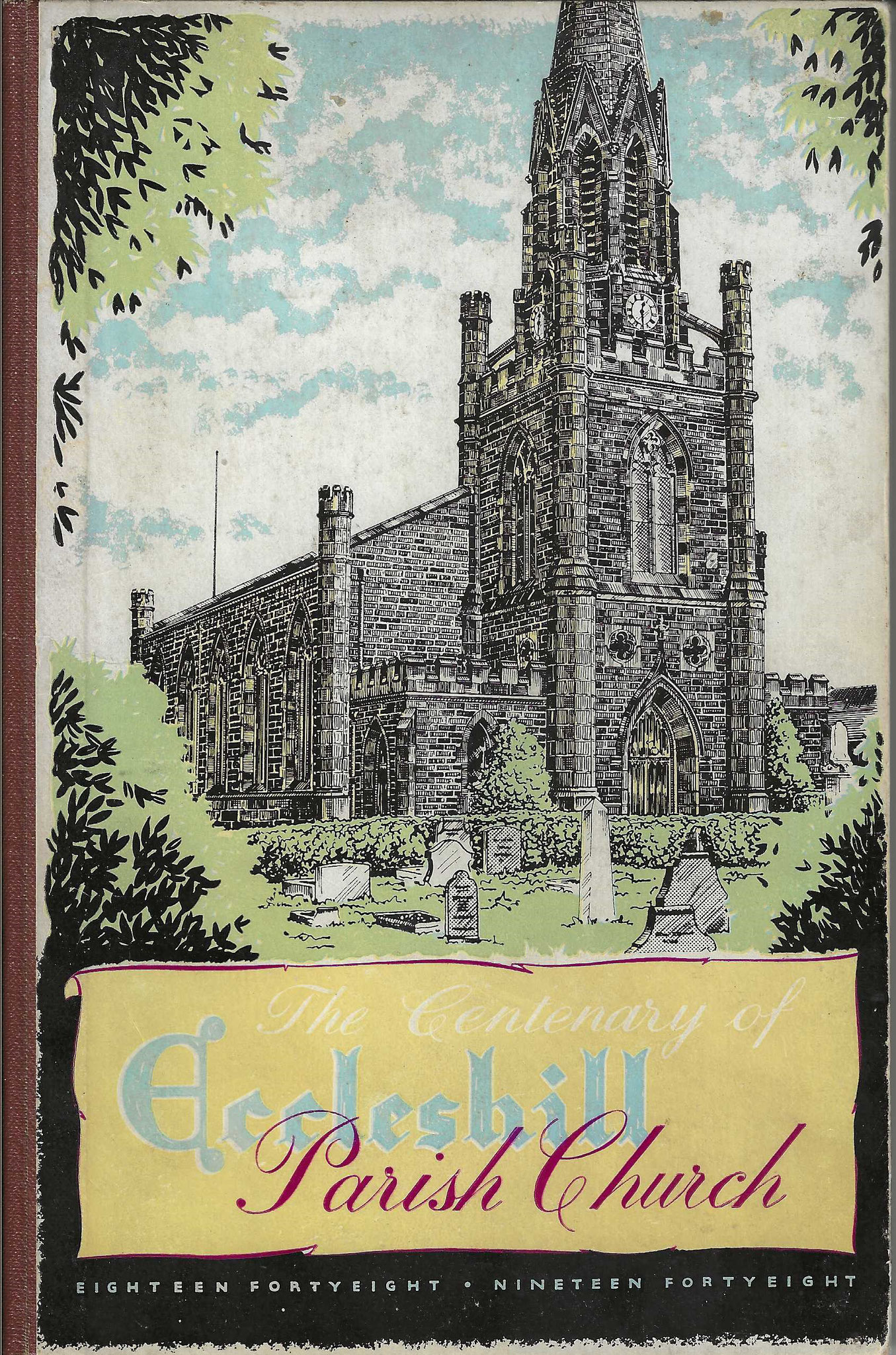 The Centenary History of Eccleshill Parish Church, 1948 (collection P. Reinders)