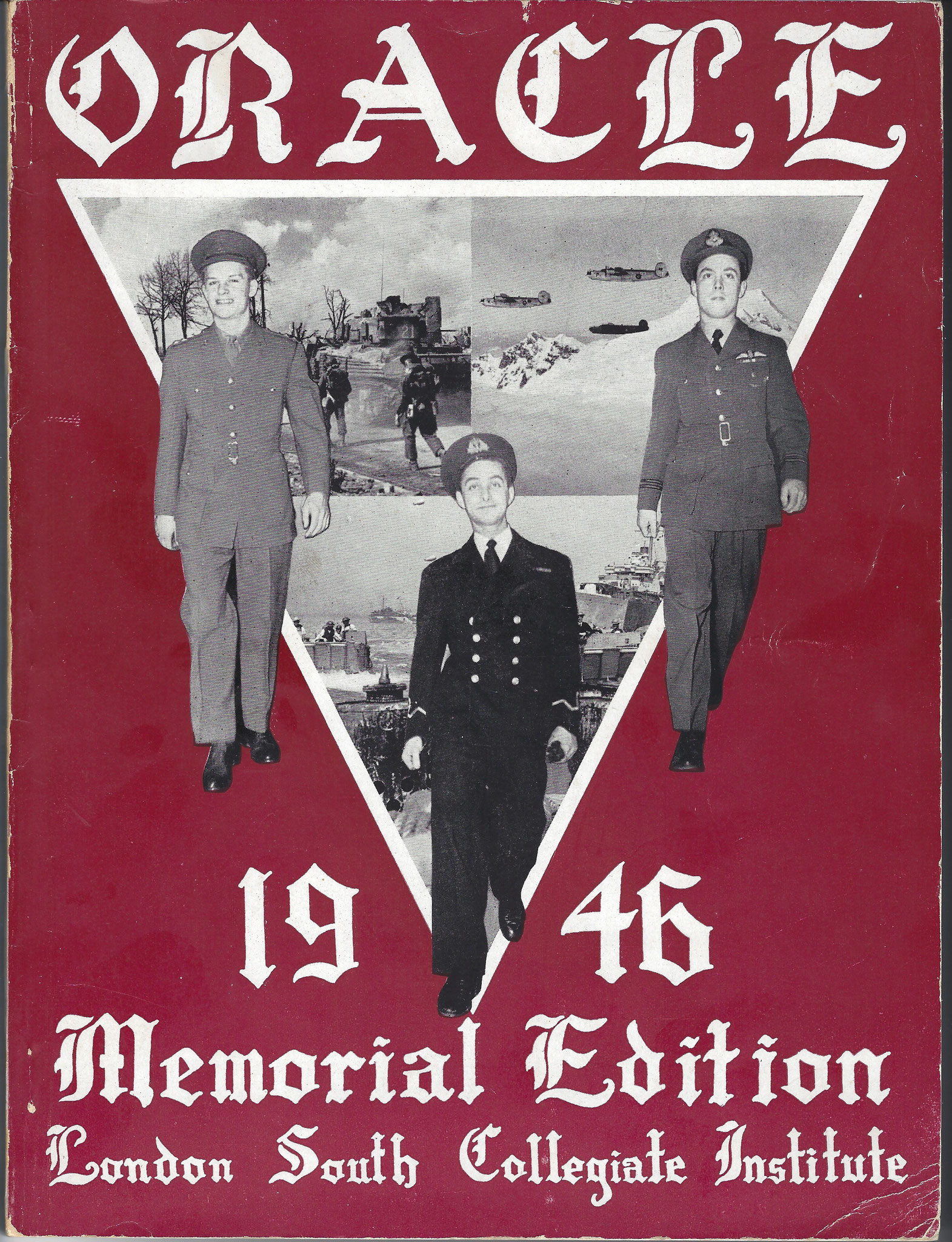 Memorial Edition 1946 London South Collegaite Institute (collection P. Reinders)