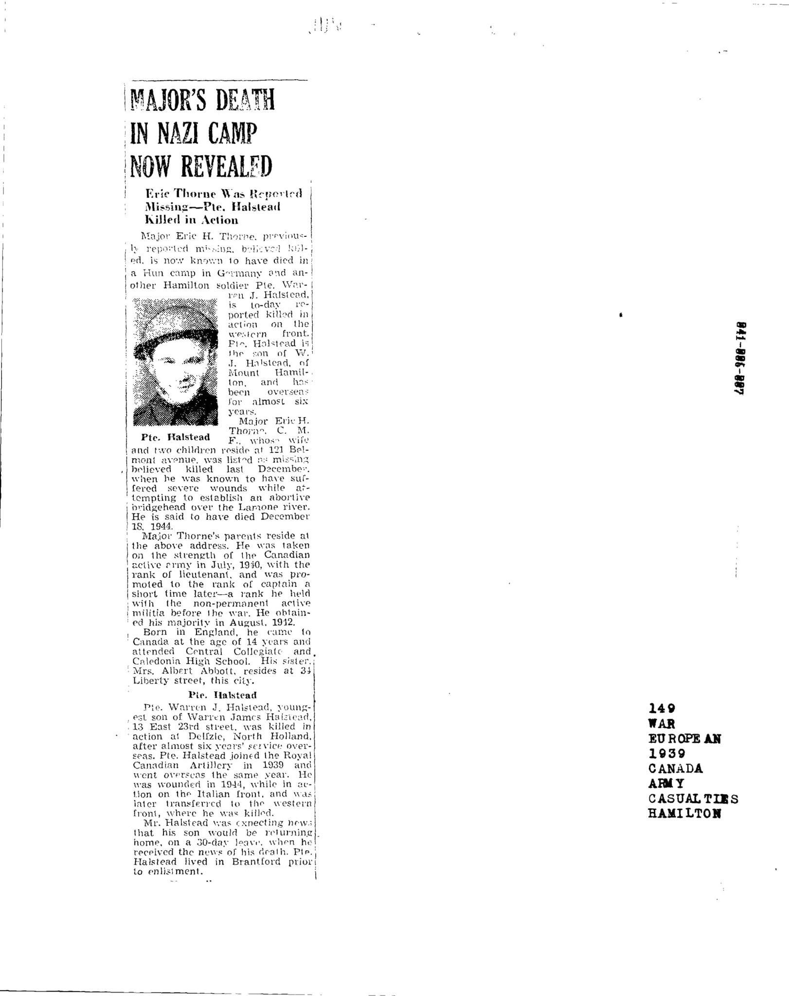 Hamilton spectator 2-6-1945