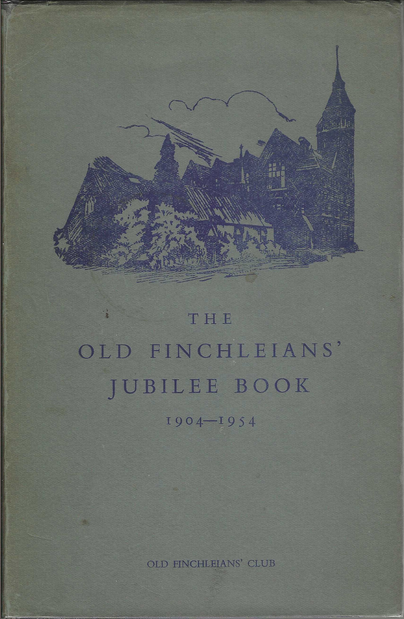 The Old Fichleians Jubilee Book, 1954 (collection P. Reinders)