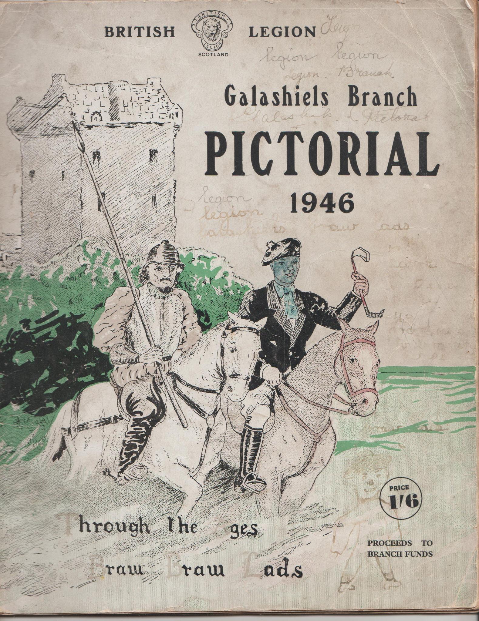 British Legion Galashield Branch Pictorial, 1946