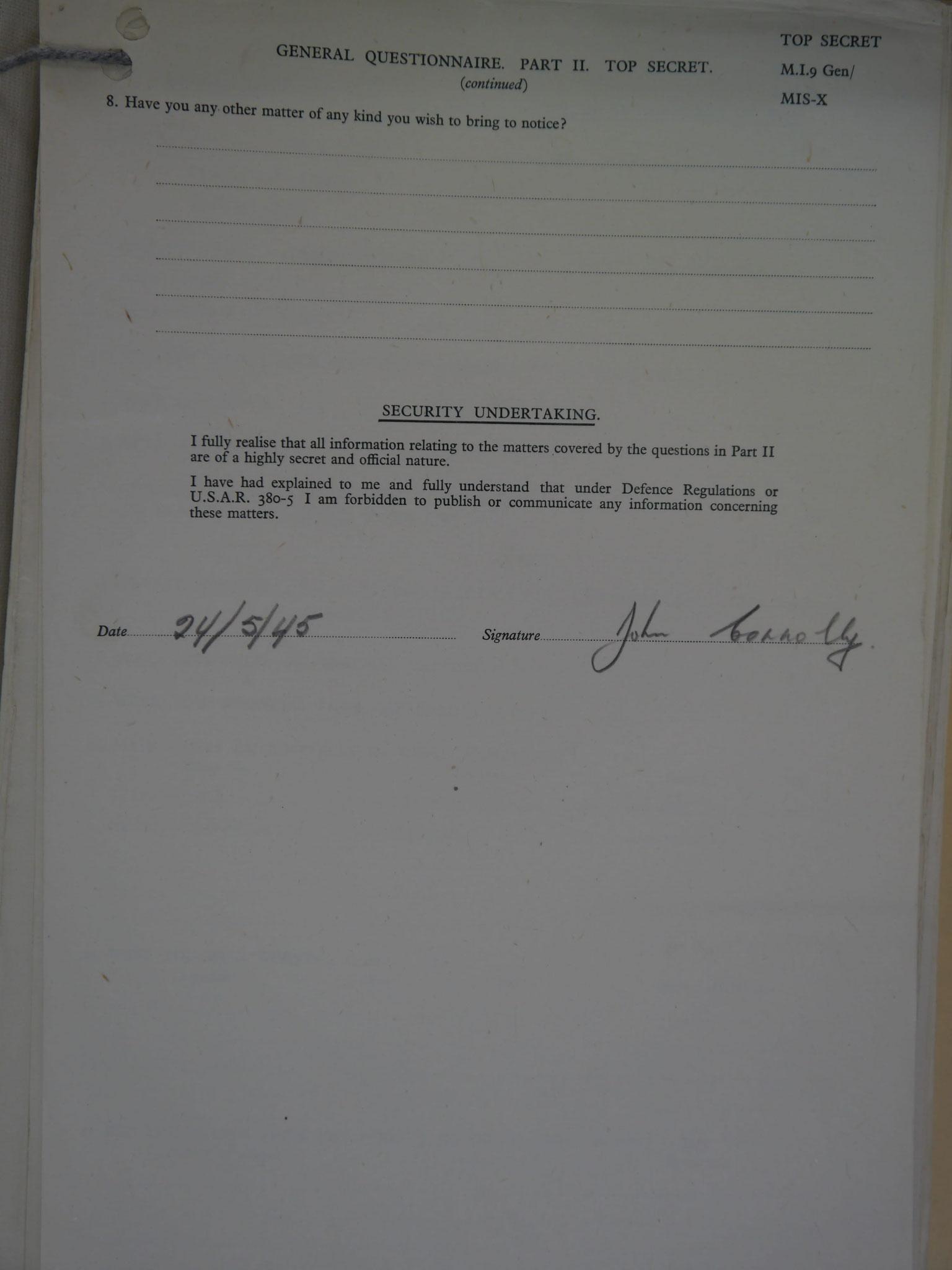 Private J. Connolly