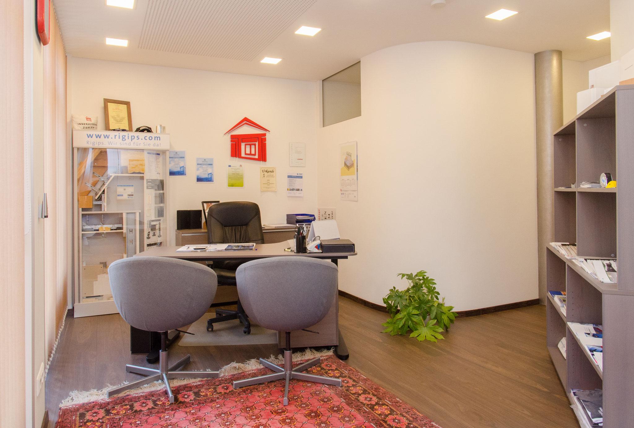 Innenausbau Zierler KG Büro und Beratung in Graz.