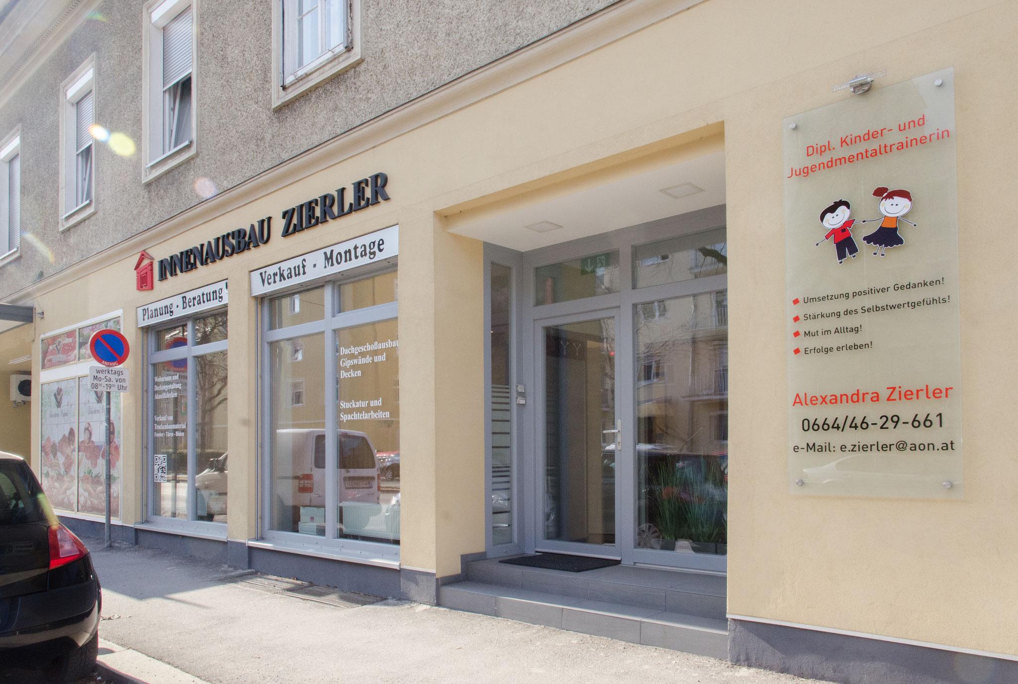 Innenausbau Zierler Büro und Beratung in Graz.