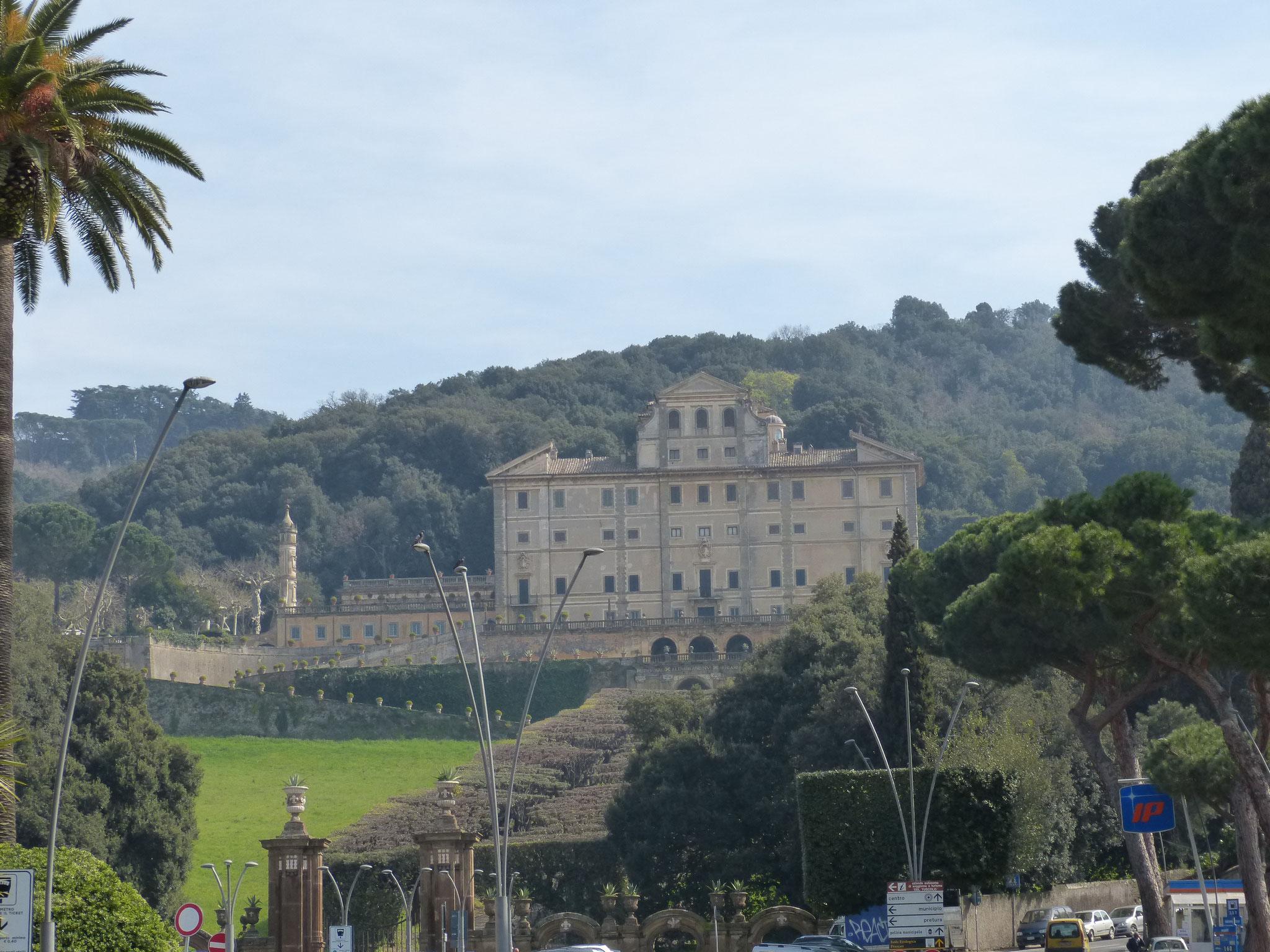 Villa Aldrobandani in Frascati