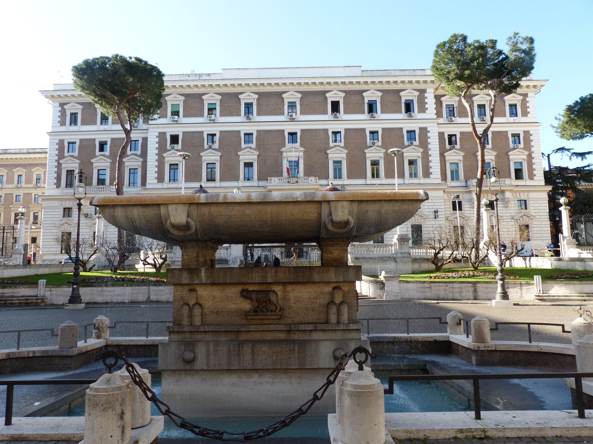 Das Vimimale - Sitz des italienischen Innenministeriums