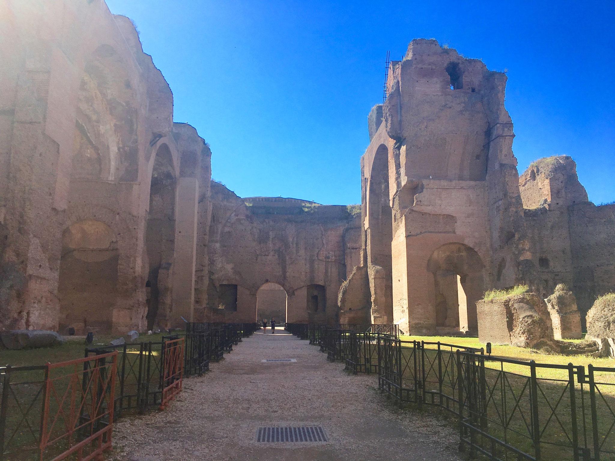 Die Caracalla-Therme sind eine pittoreske Alternative zum Petersdom