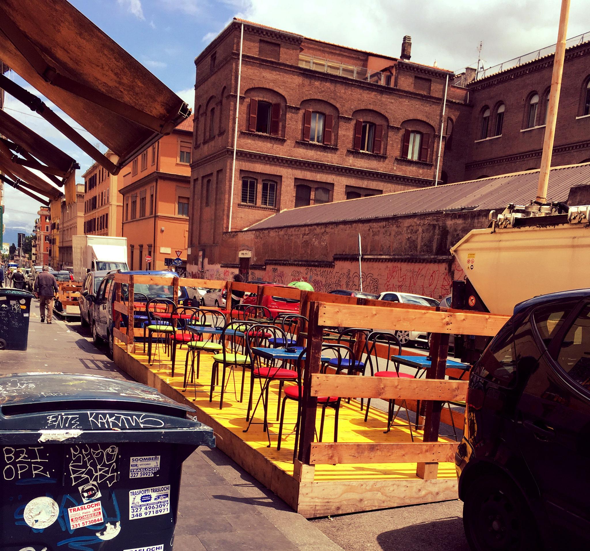 Im Stadtviertel San Lorenzo sind viele Studenten unterwegs.