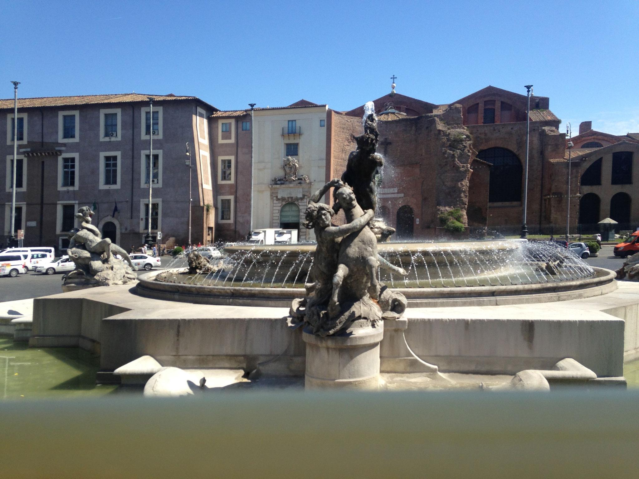 Piazza della Repubblica inkl. Fontana delle Naiadi