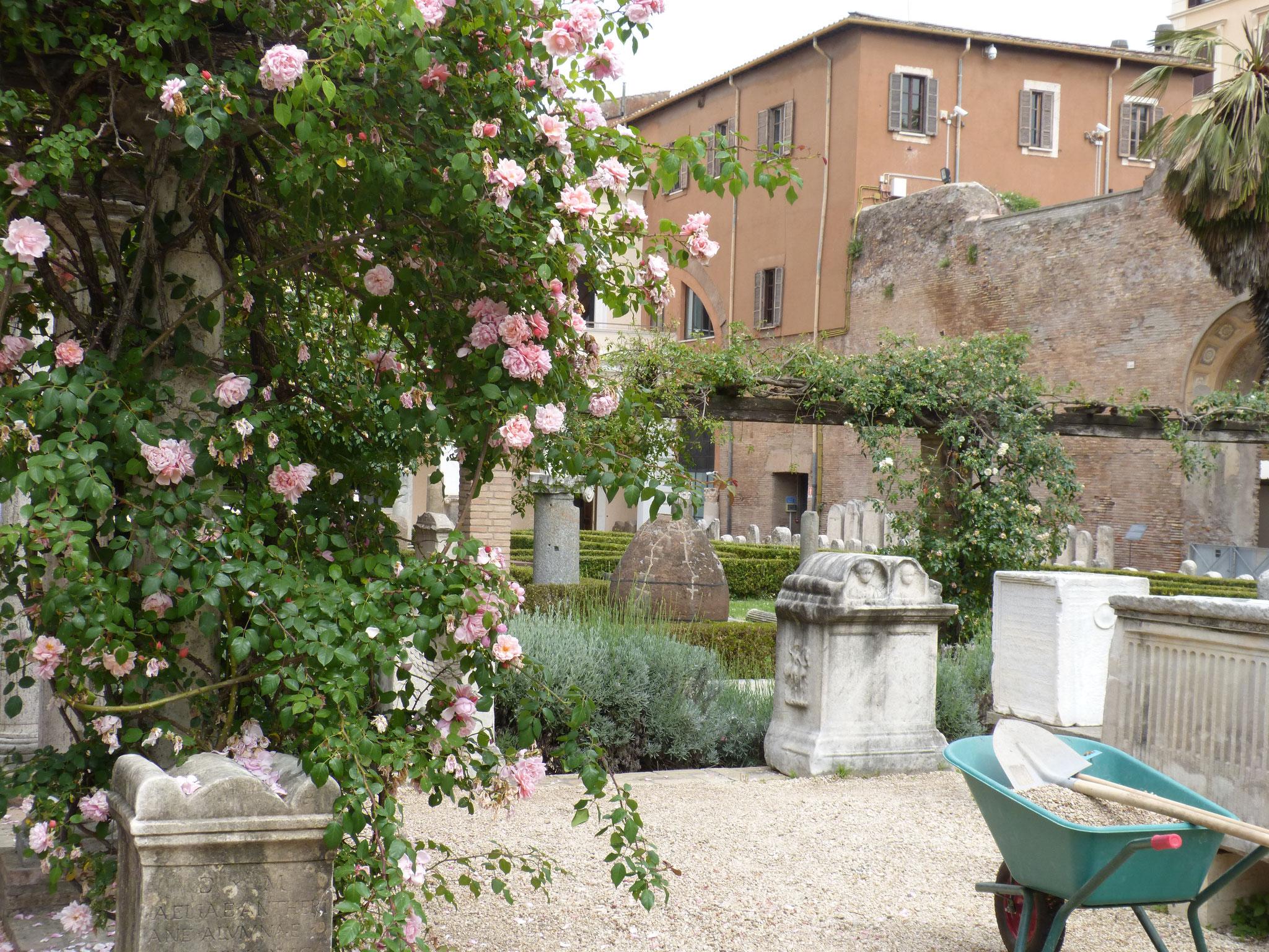 In den Ruinen der Diokletiansthermen und in den Räumen eines ehemaligen Klosters befindet sich einer der Sitze des Römischen Nationalmuseums.