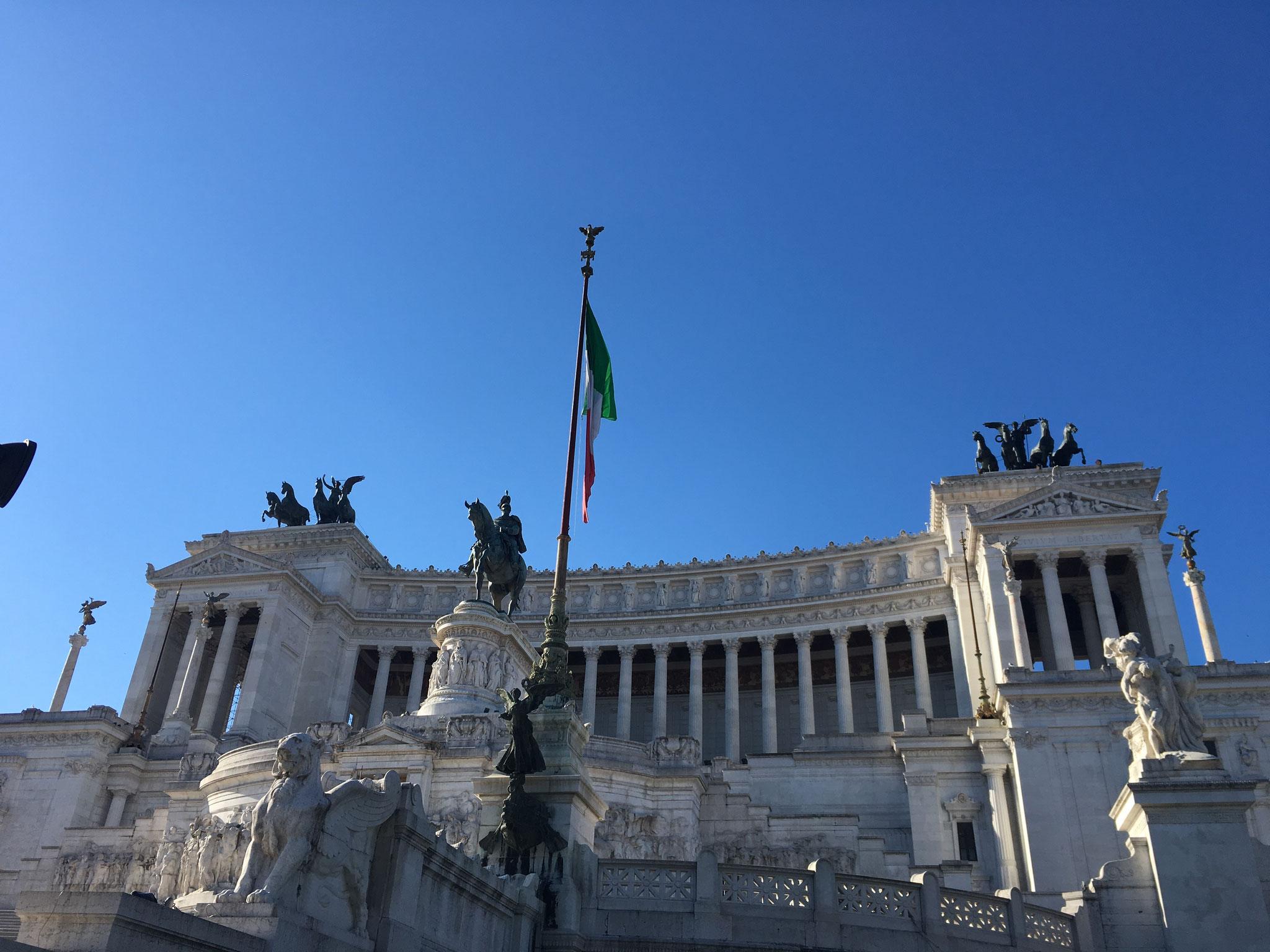 Ein Besuch des Vittoriano und seiner diversen Terrassen ist ein absolutes Vergnügen.