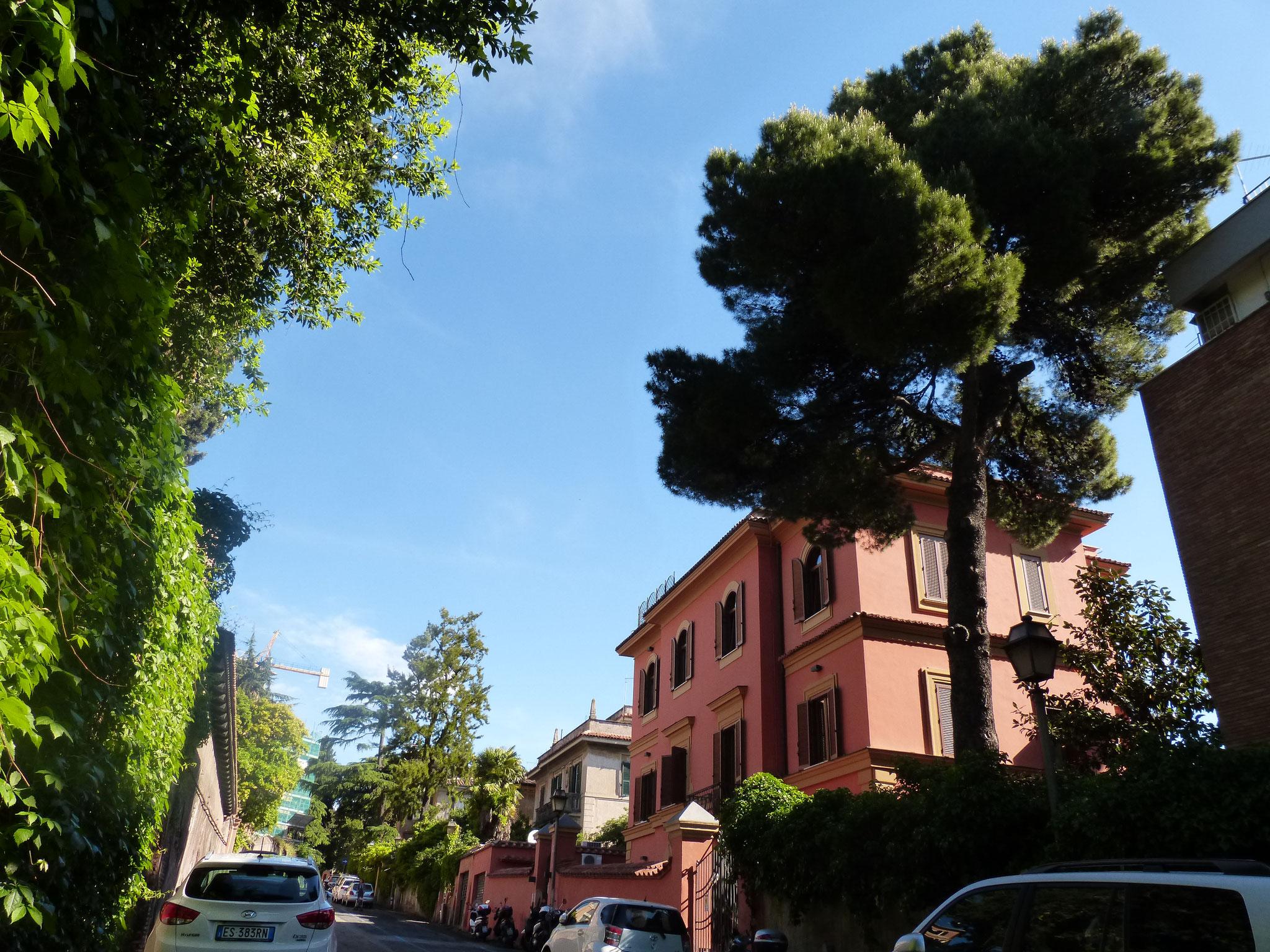 Der Aventin ist eine schicke und ruhige Wohngegend im Herzen der Ewigen Stadt.