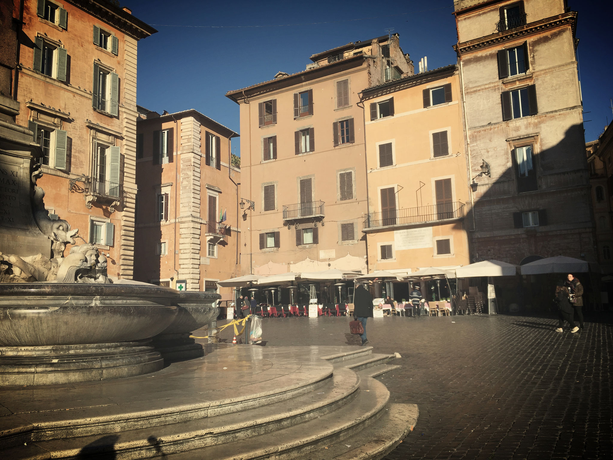 Platz vor dem Pantheon