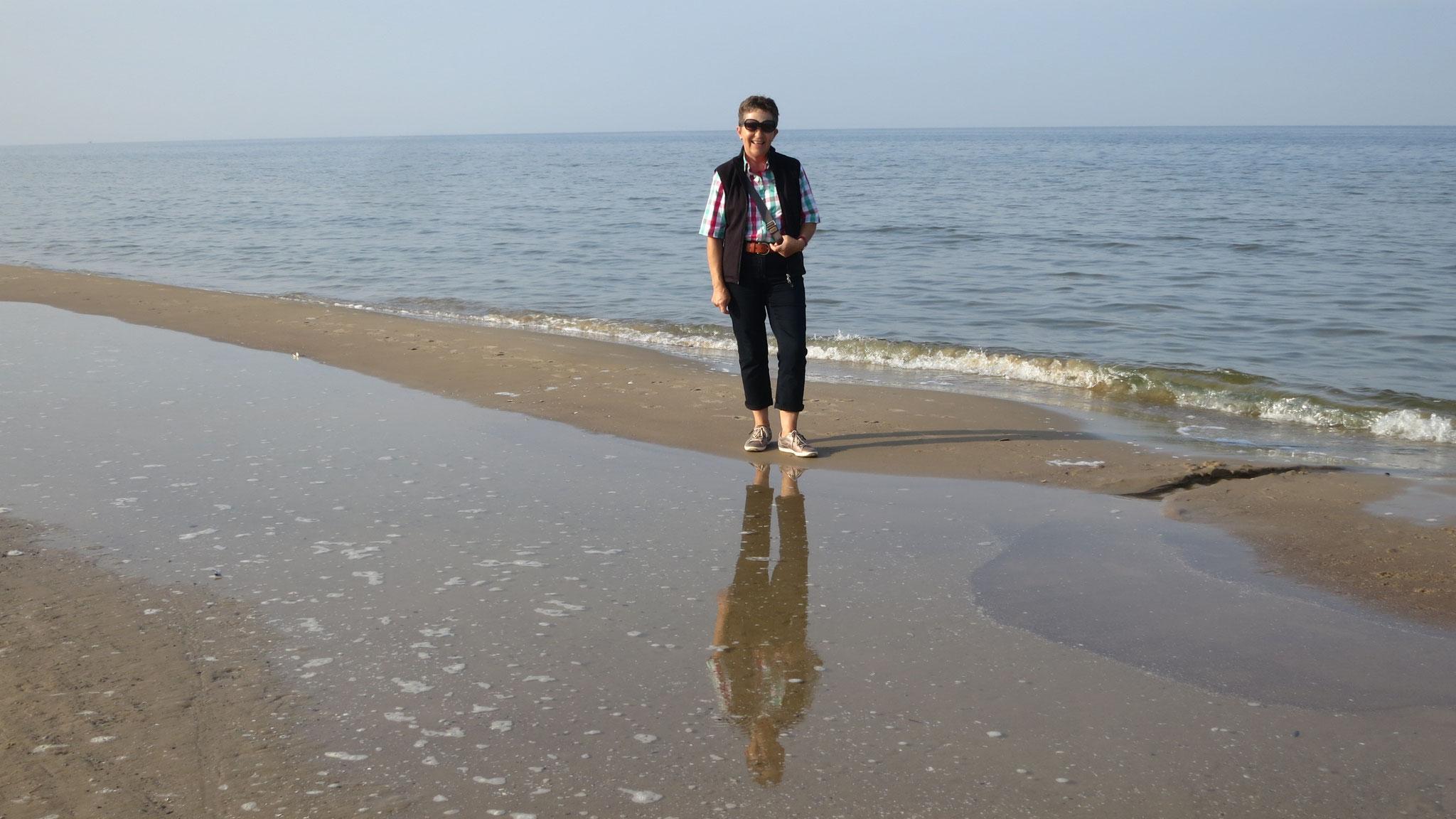 Strandweg nach Swinemünde