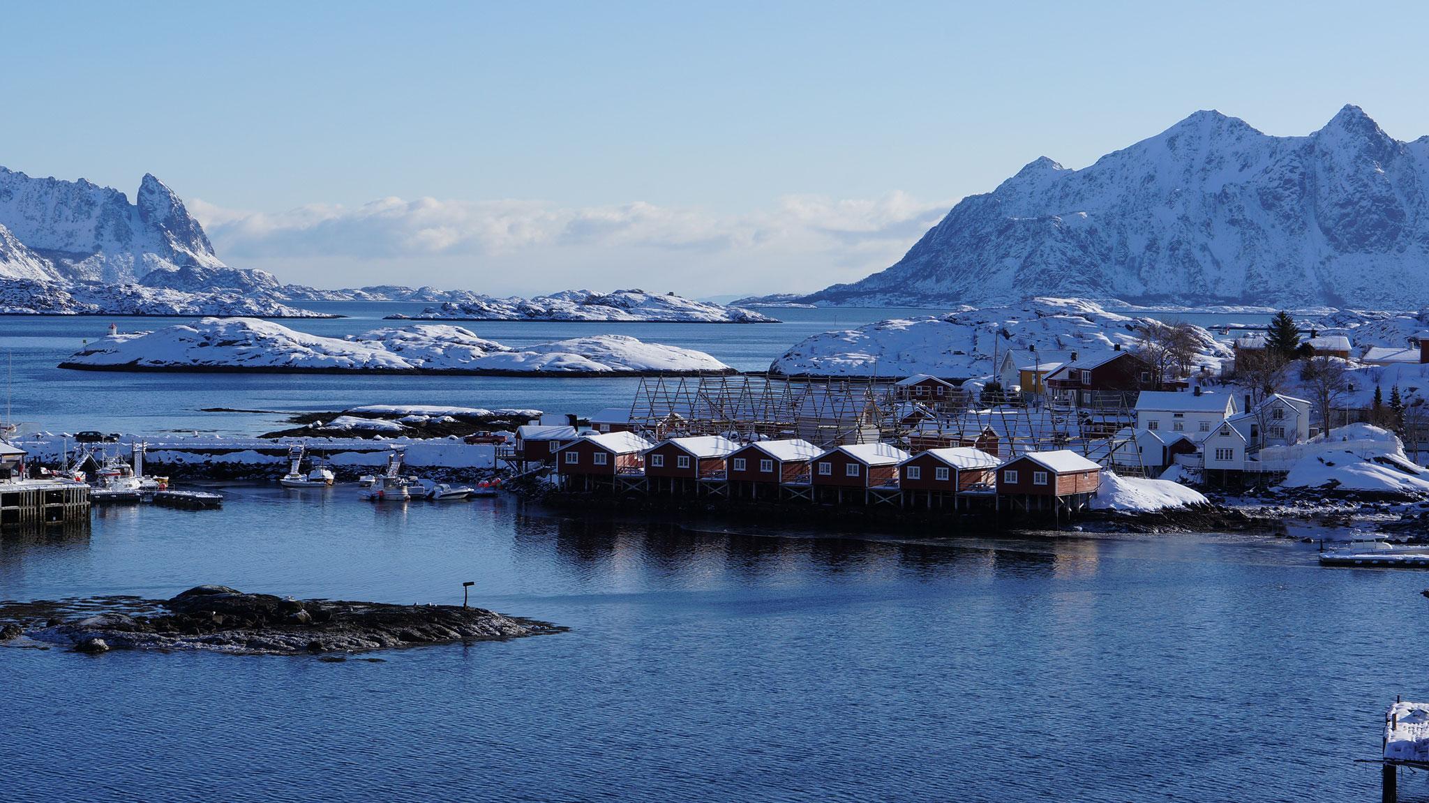 Nordnorwegen Lofoten Svolvaer