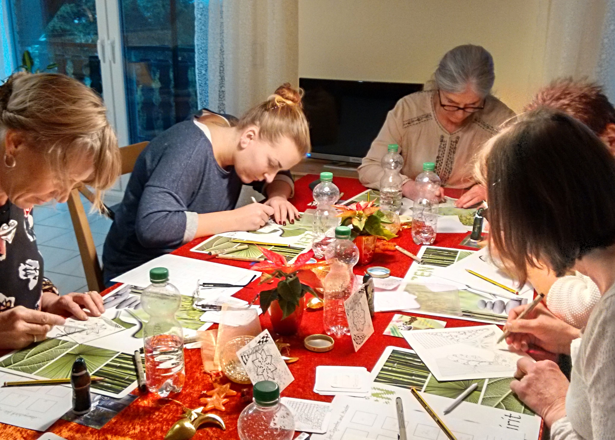 Workshop Meditatives Zeichnen 26.11.2016