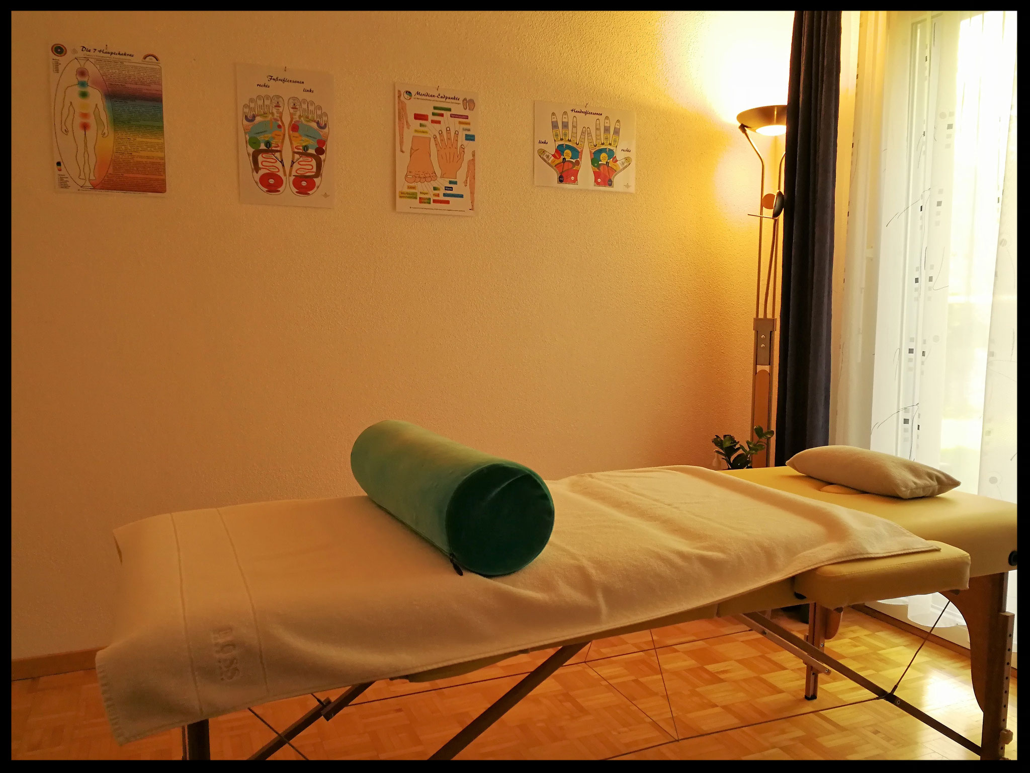 Bereich für energetische Behandlung