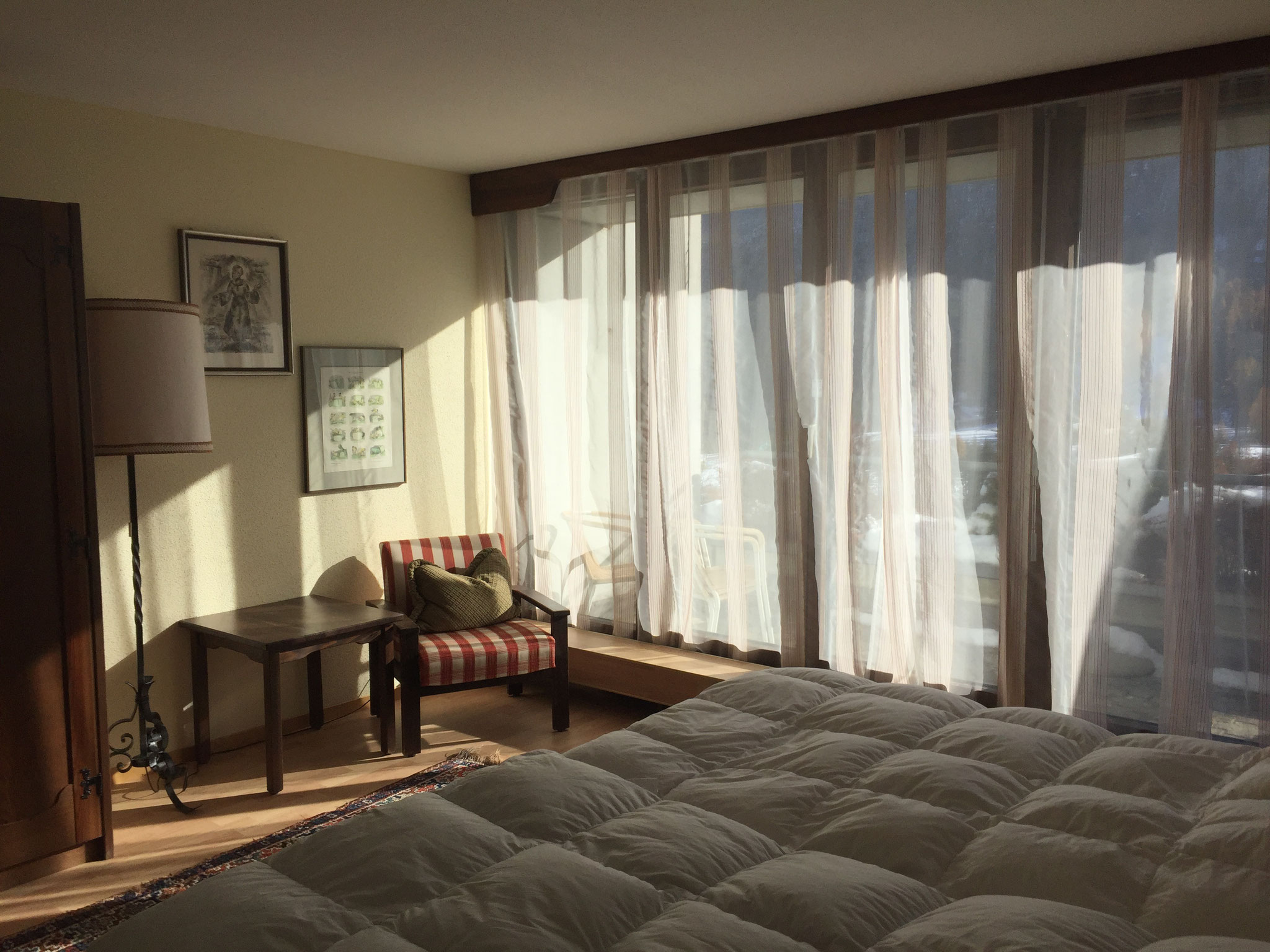 Ferienwohnung-Schlafzimmer