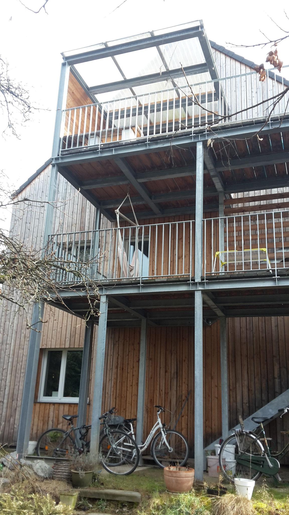 Balkonanlage Bergstrasse - mayrtragwerkes Webseite!