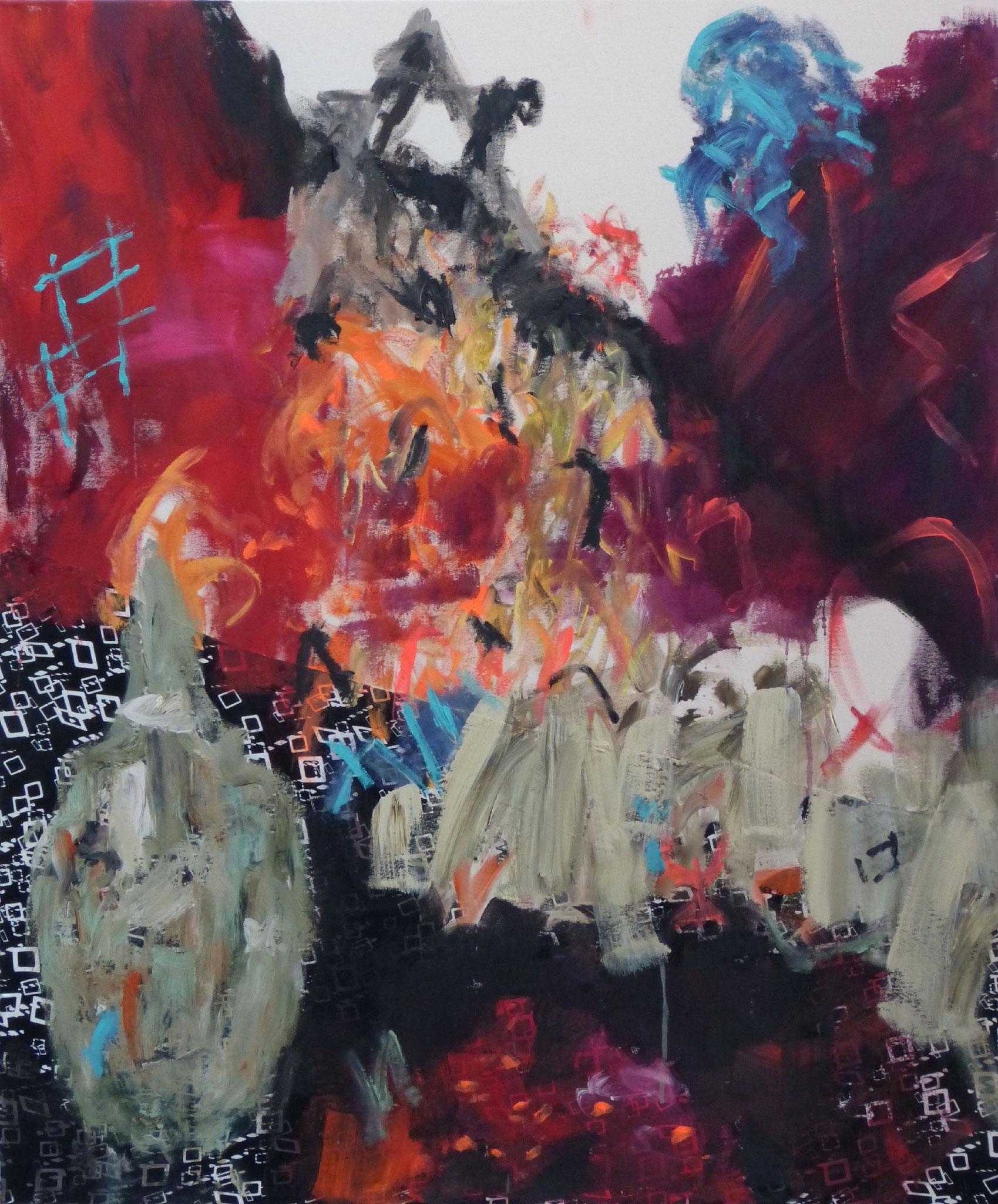 Marrakesch 6,  Acryl/Leinwand, 120x100 cm, 2018