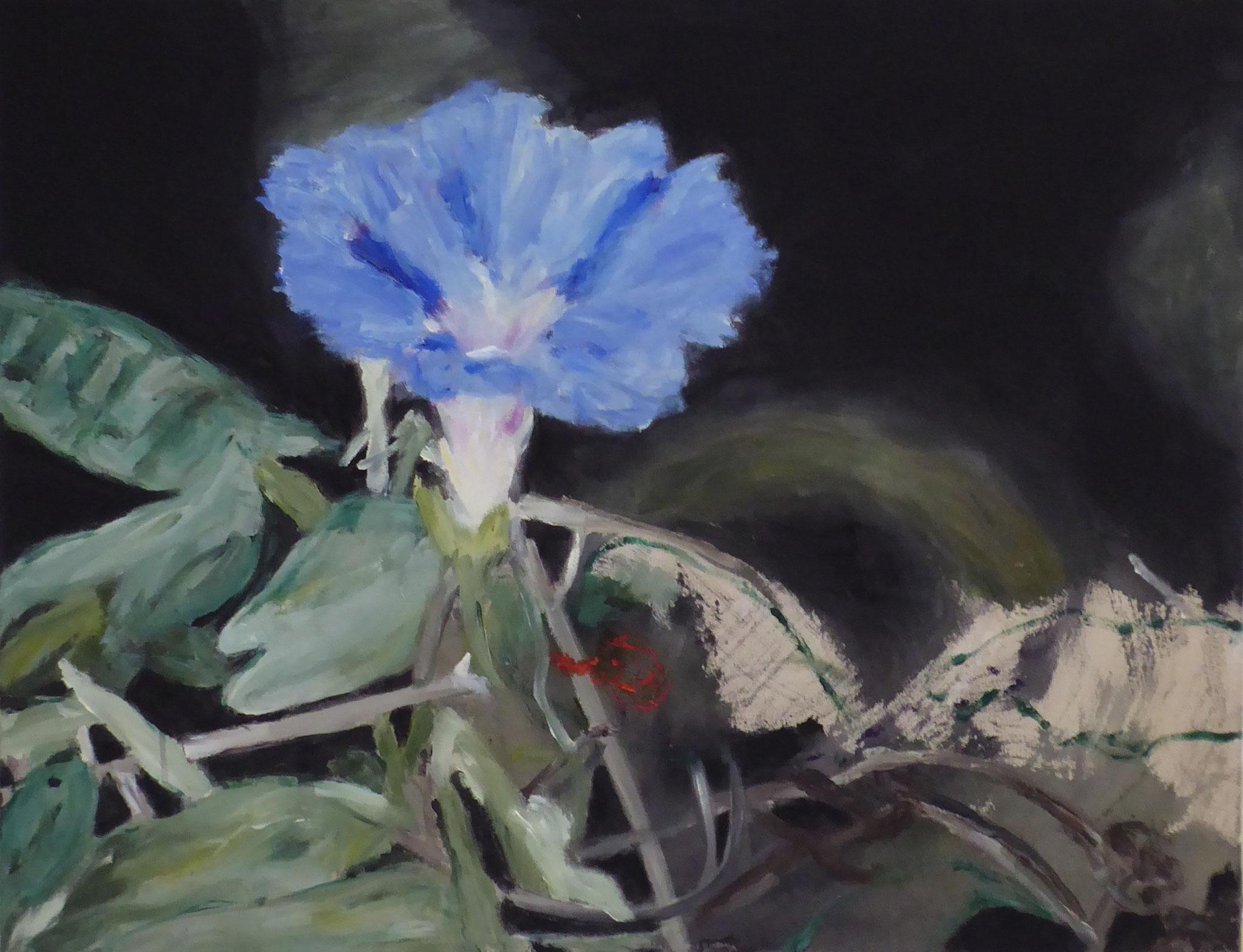 Flower Poem 40, Acryl/Leinwand, 2021
