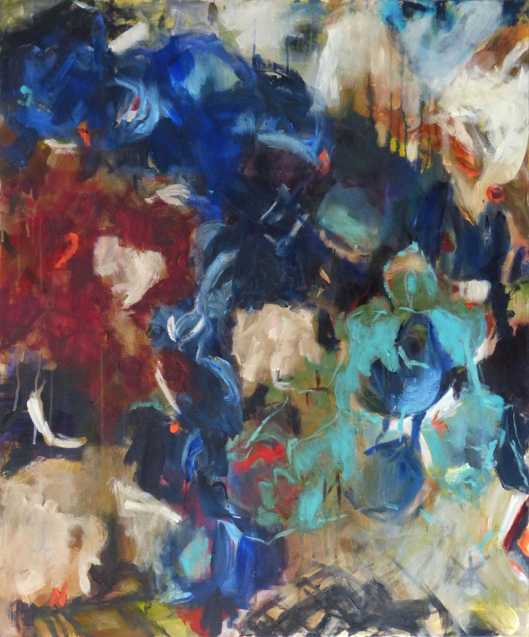 Marrakesch 1,  Acryl/Leinwand, 120x100 cm, 2018