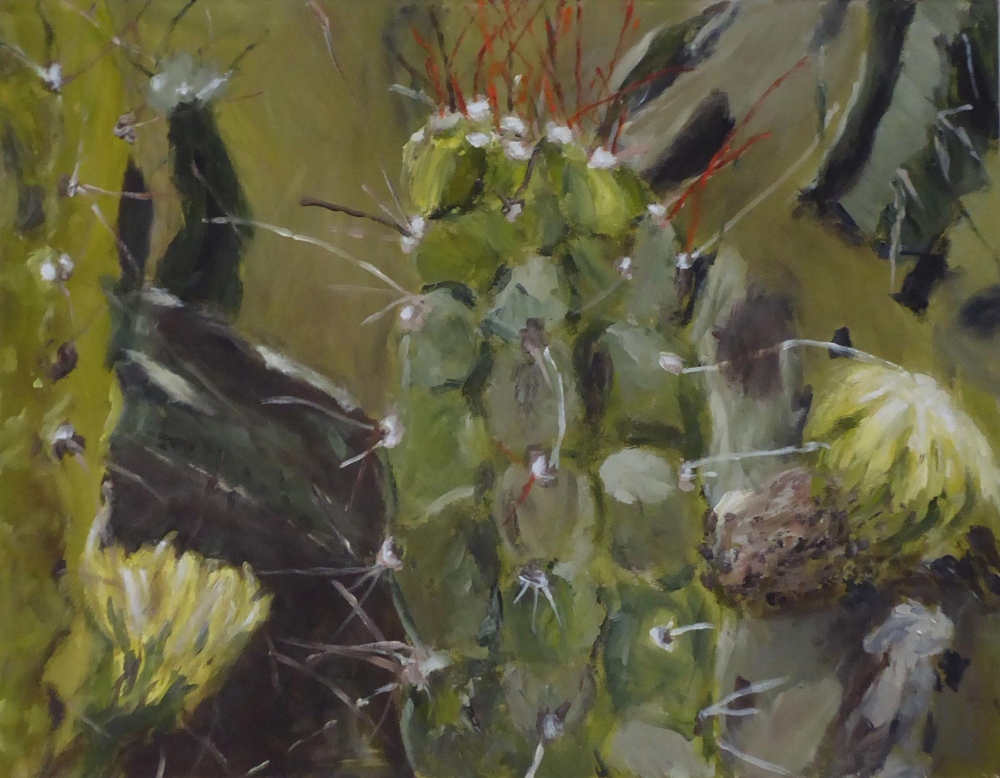 Flower Poem 45, Acryl/Leinwand, 2021