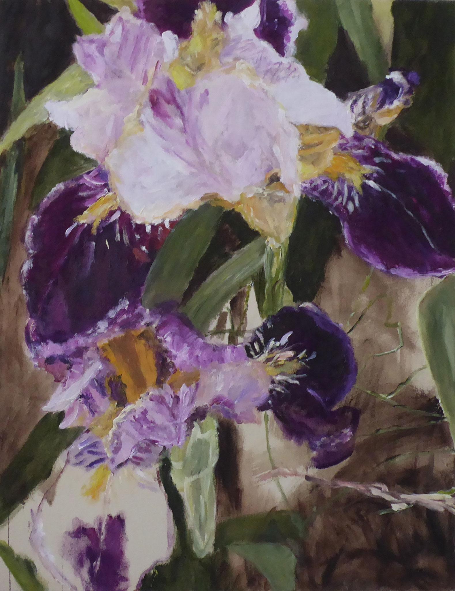 Flower Poem 47, Acryl/Leinwand, 2021
