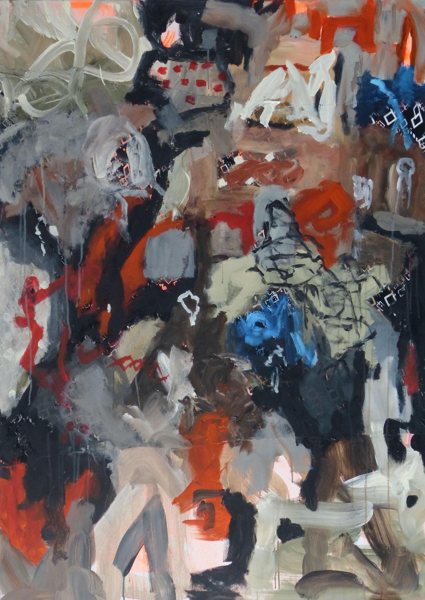 Marrakesch 5,  Acryl/Leinwand, 140x100 cm, 2018