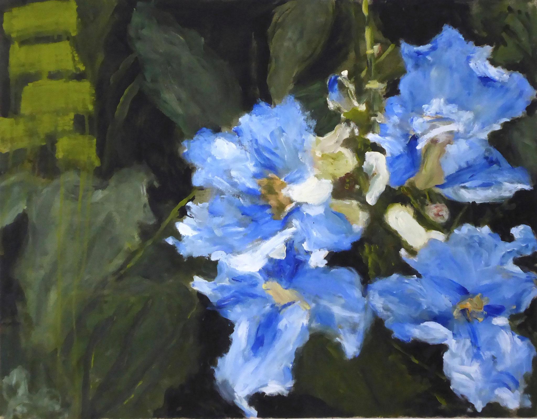 Flower Poem 41, Acryl/Leinwand, 2021