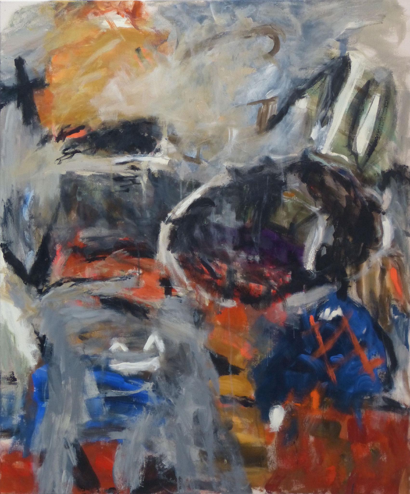 Marrakesch 7,  Acryl/Leinwand, 120x100 cm, 2018