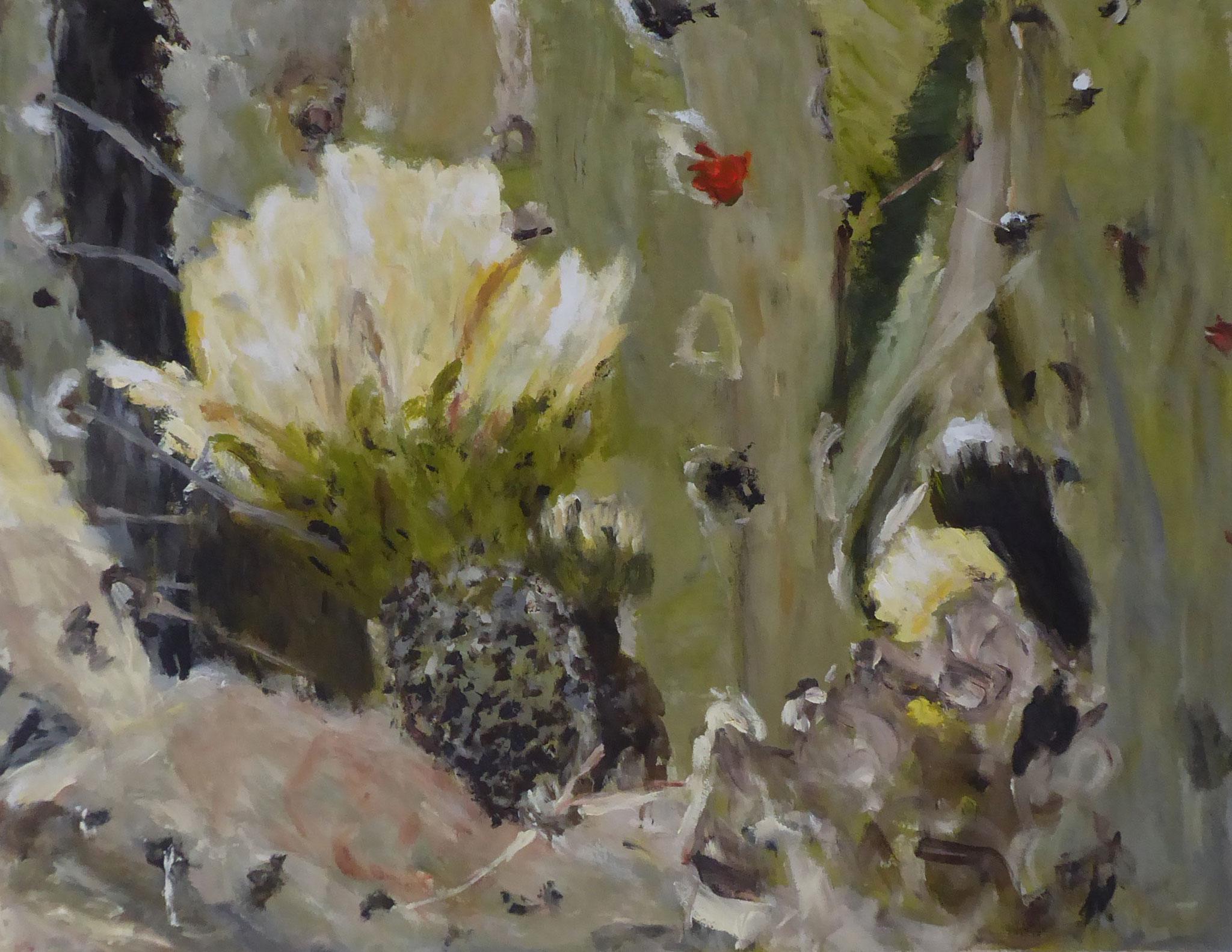 Flower Poem 46, Acryl/Leinwand, 2021
