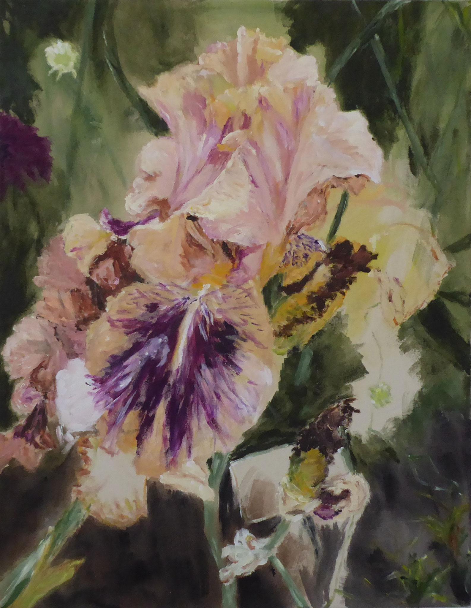 Flower Poem 51, Acryl/Leinwand, 2021
