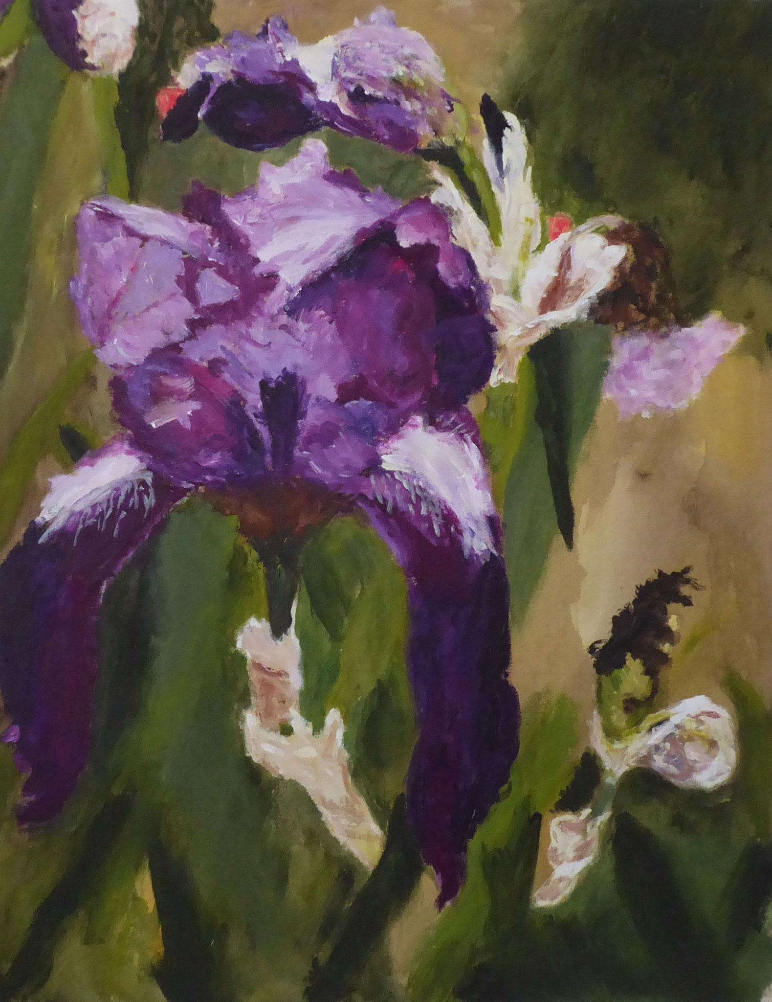 Flower Poem 50, Acryl/Leinwand, 2021
