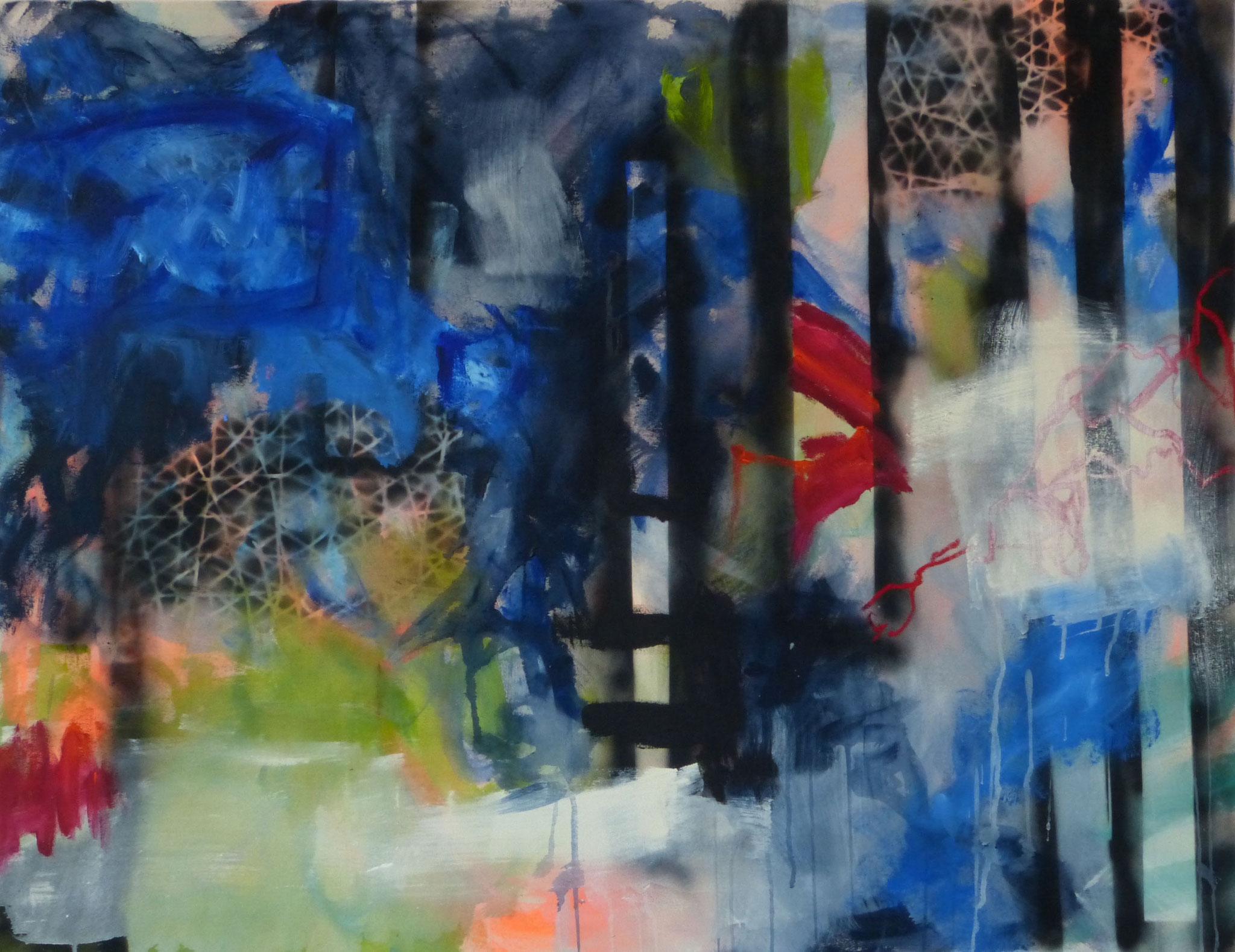 Vivace, Acryl auf Leinwand, 100x130cm, 2019