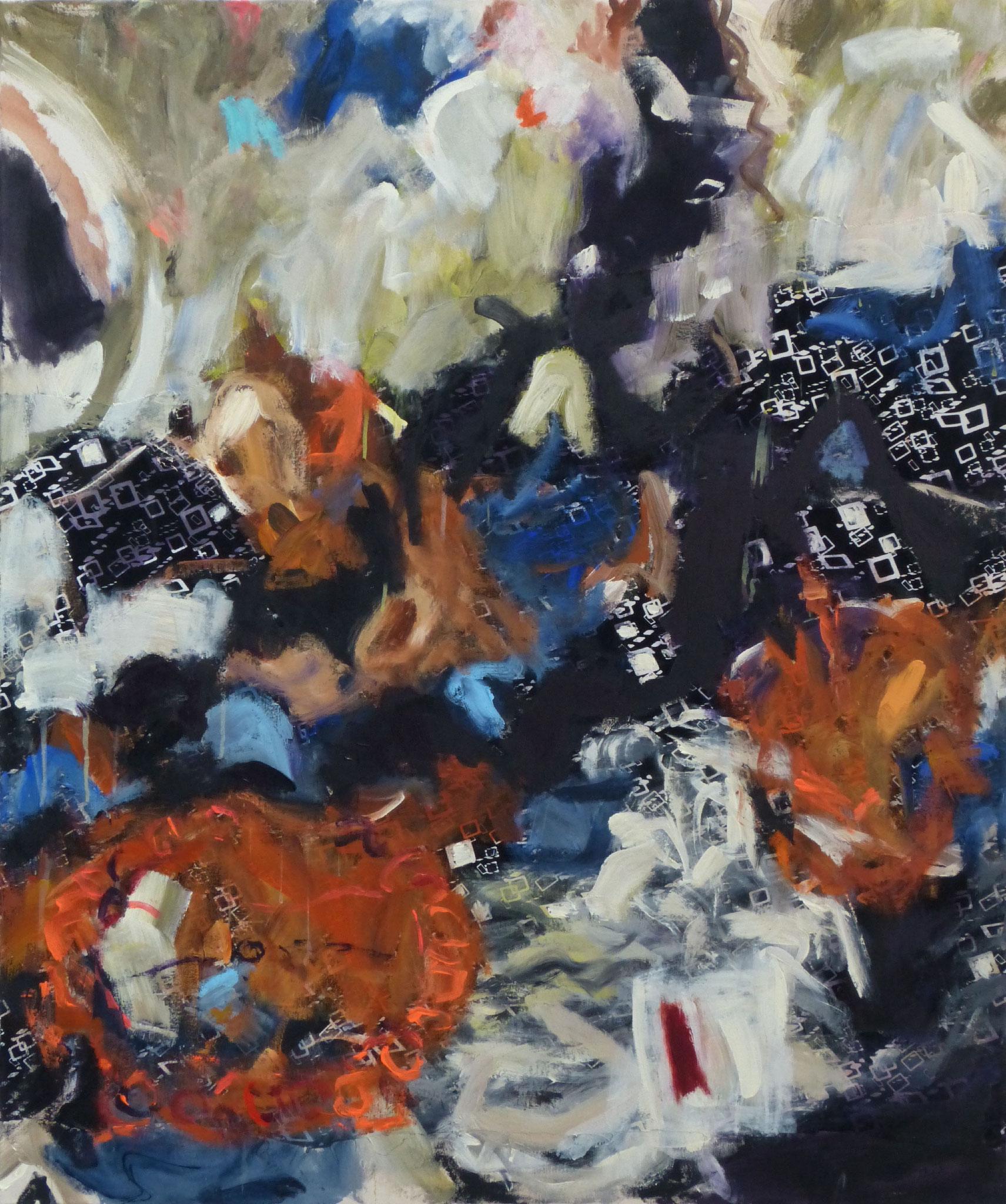 Marrakesch 3,  Acryl/Leinwand, 120x100 cm, 2018