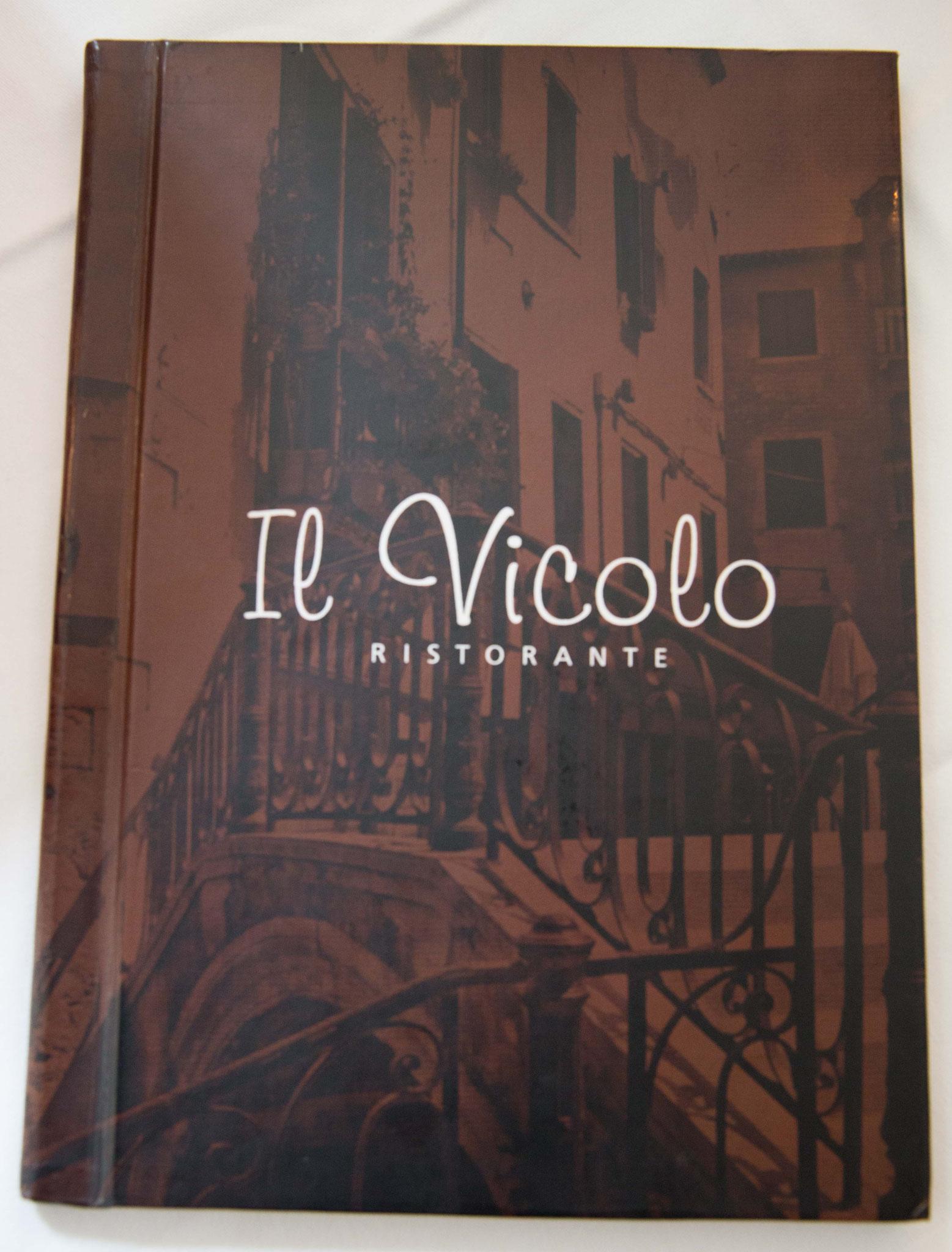 Speisen & Getränke - Ristorante il Vicolo - italienische Spezialitäten