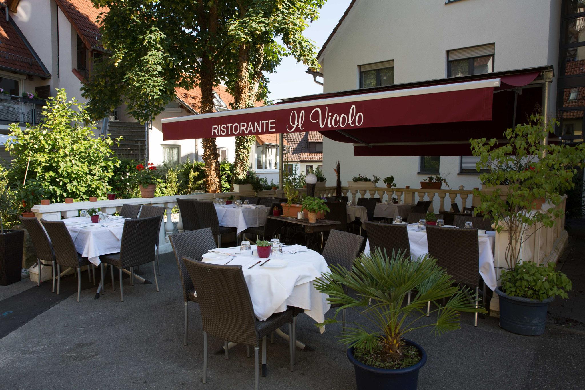 Die Terrasse Ristorante Il Vicolo Italienische Spezialitaten