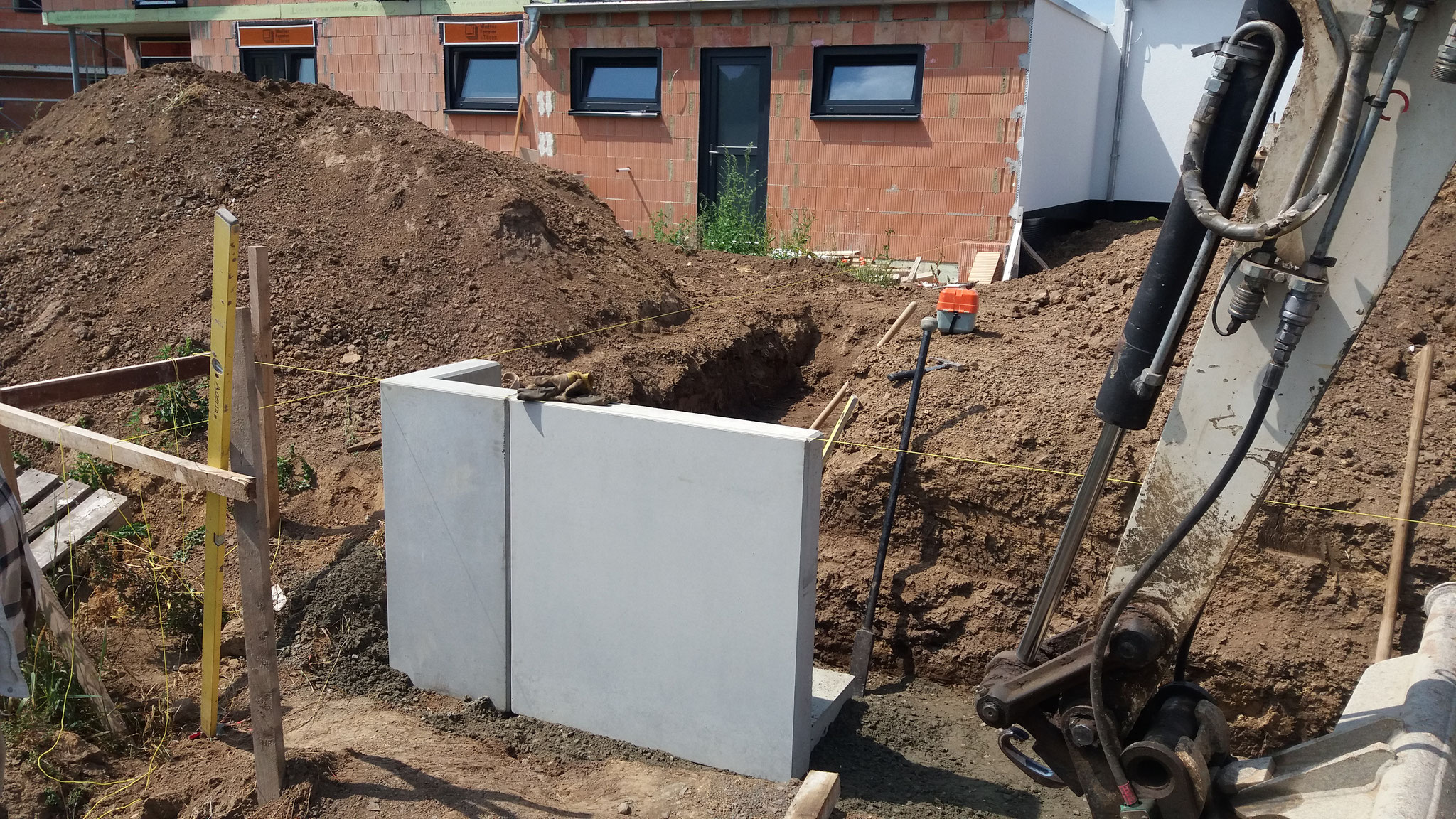 l steine 40x40 ehl l stein grau 30 x 40 x 40 cm beton. Black Bedroom Furniture Sets. Home Design Ideas
