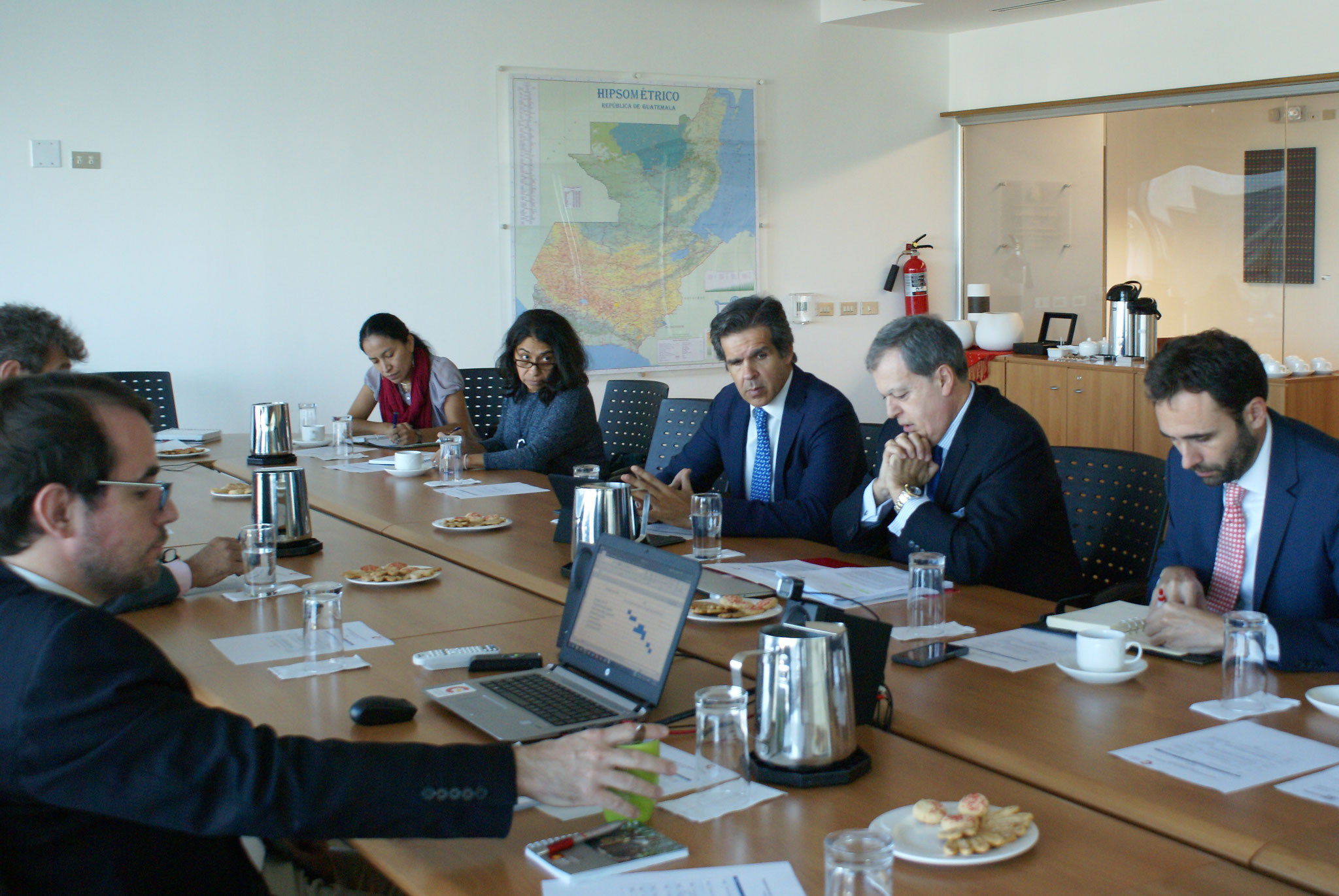 Primera reunión del 2018 del Grupo Estable de la Cooperación Española en Guatemala