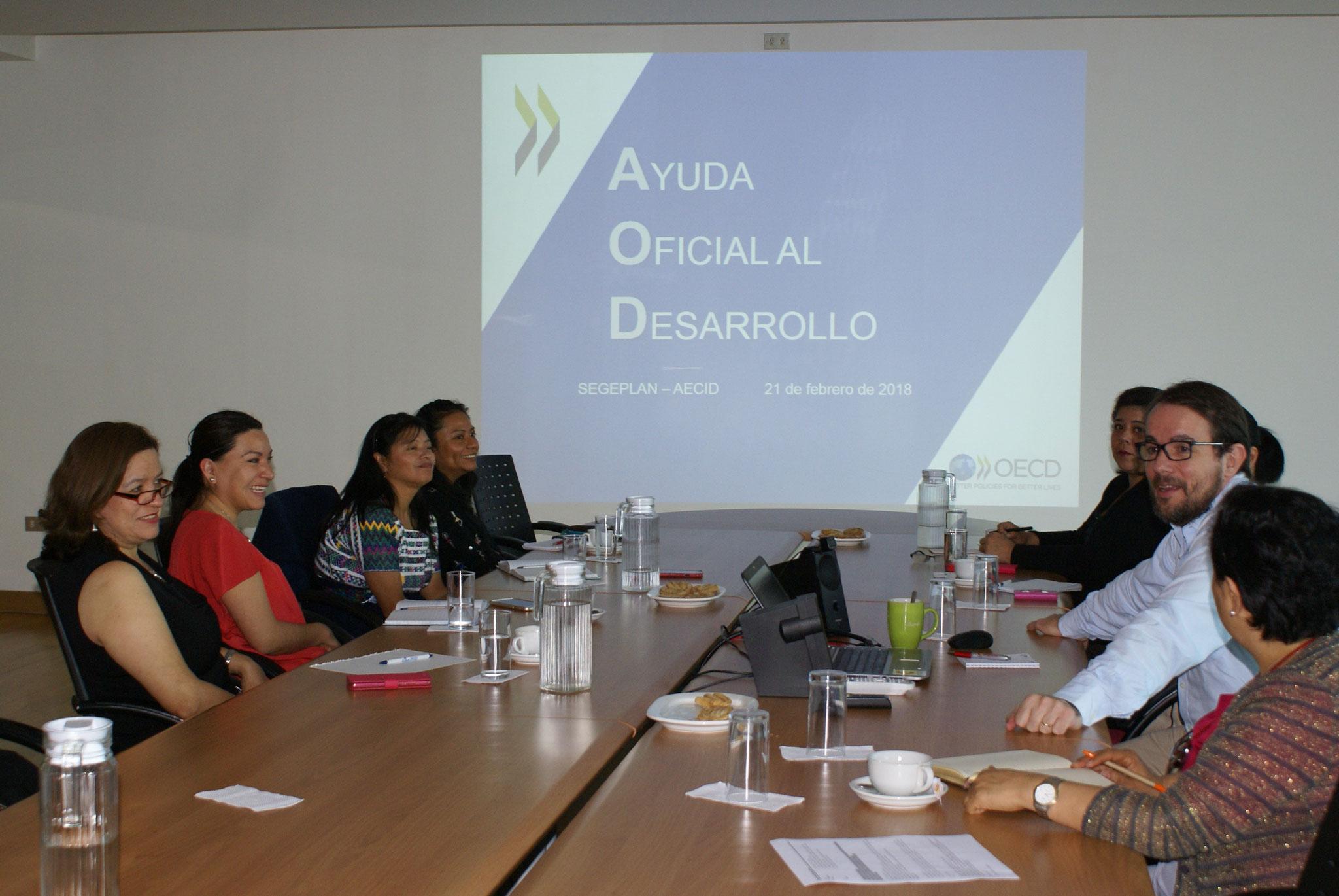 Encuentro formativo sobre OCDE y AOD