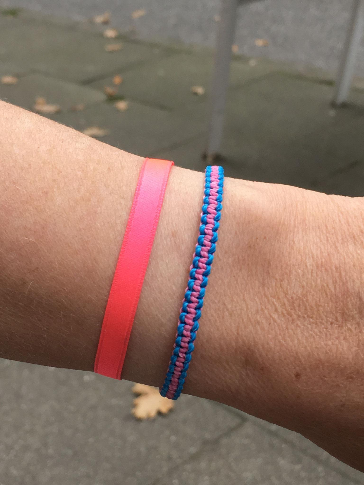 Makramee Armband Polyestergarn