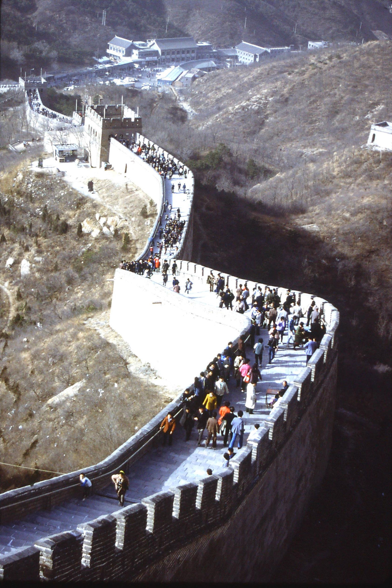 12/11/1988: 7: Great Wall at Badaling